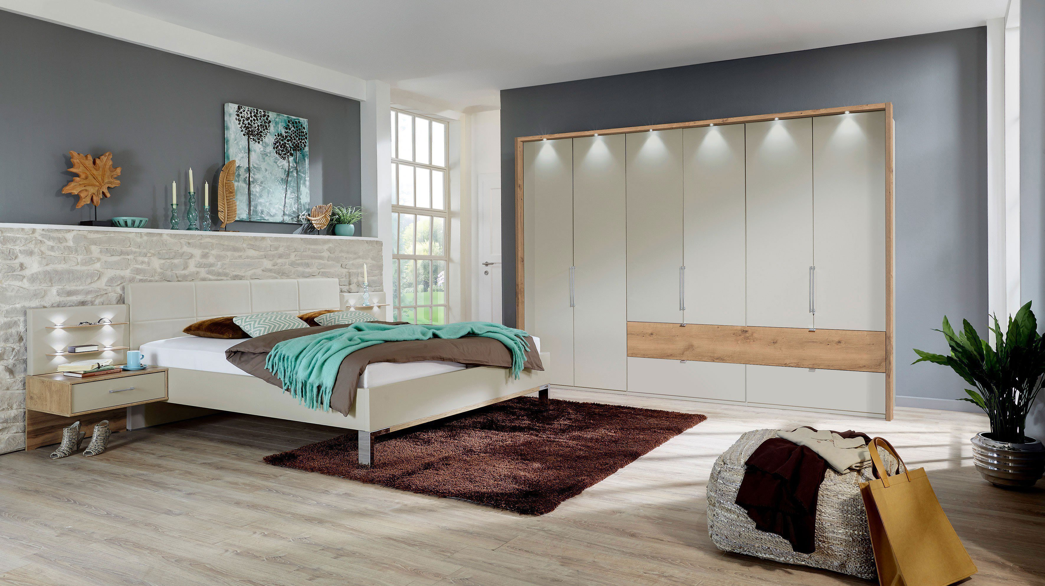 wiemann lyon schlafzimmer set 4 teilig m bel letz ihr online shop. Black Bedroom Furniture Sets. Home Design Ideas