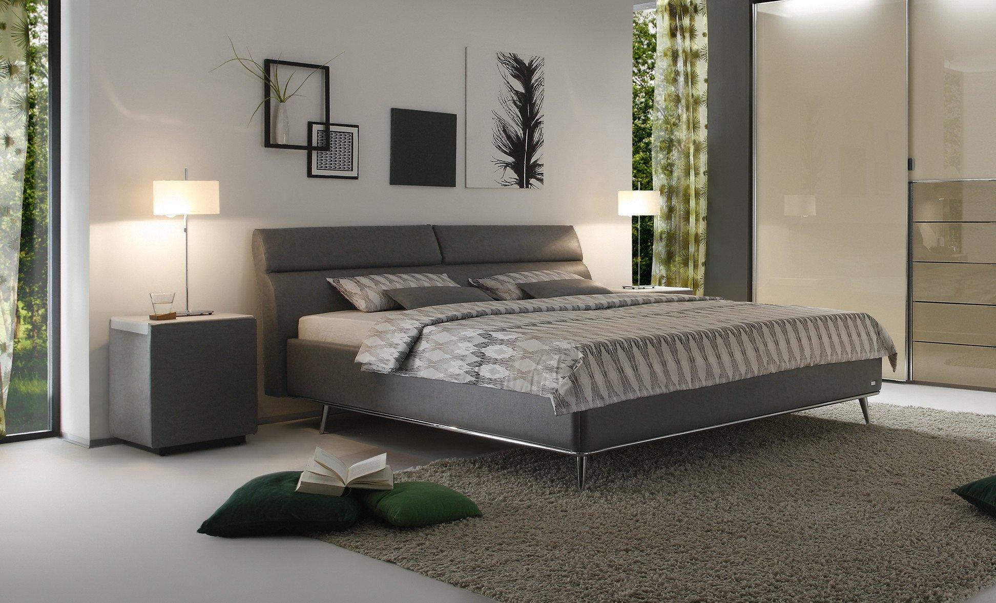 ruf bett casa ktd, ruf polsterbett modell casa im eleganten grauton | möbel letz - ihr, Design ideen