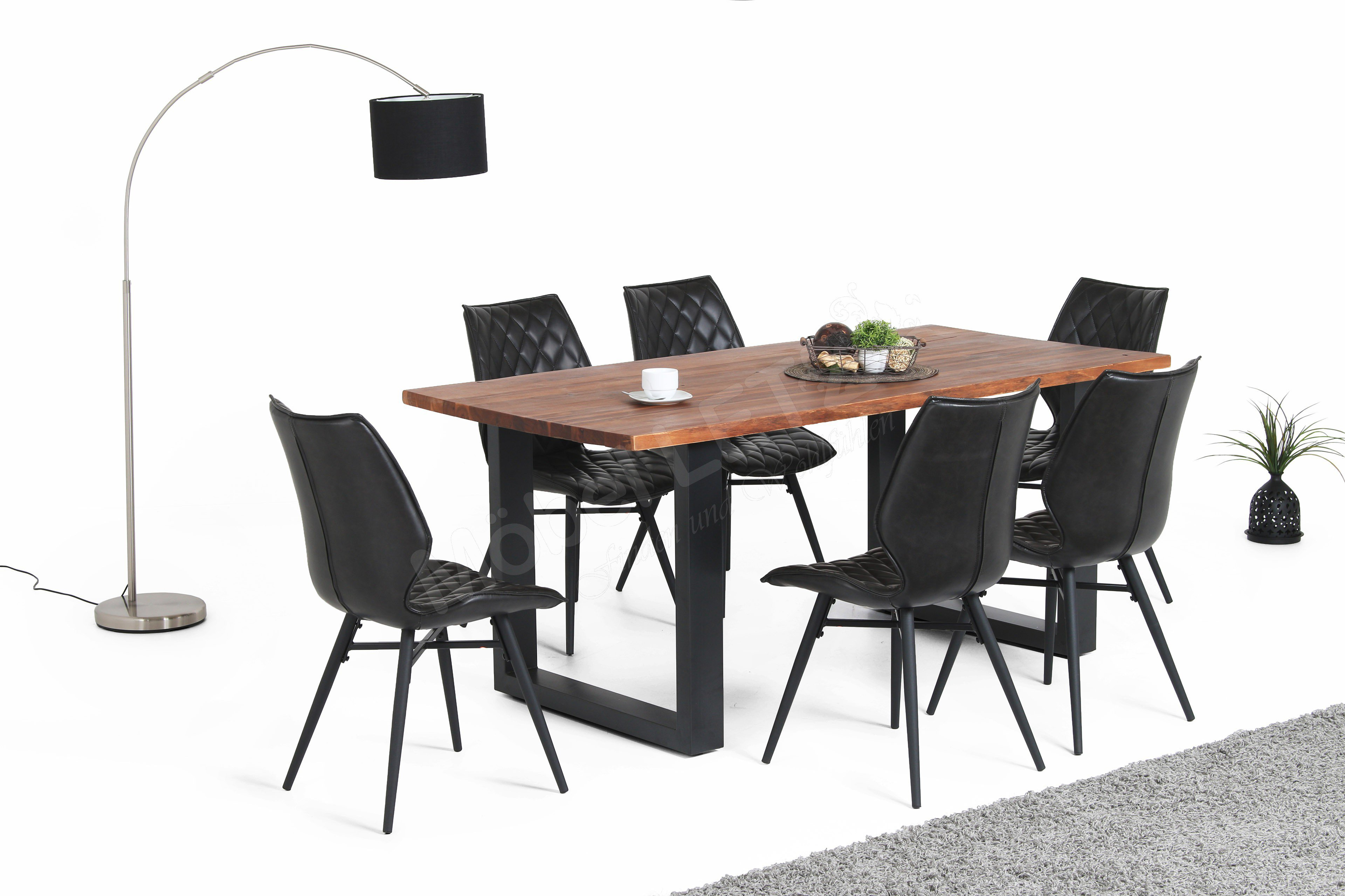 esstisch queens akazienholz massiv von. Black Bedroom Furniture Sets. Home Design Ideas