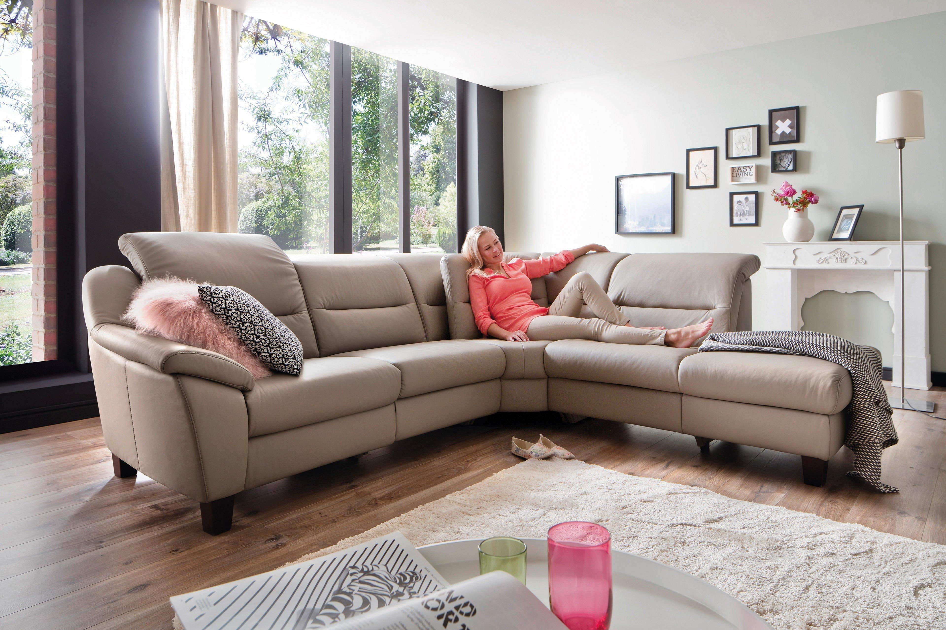 Großartig Leder Sofa Garnitur Beste Wahl Doreen Von Polsteria - Fort Ledersofa Plaza