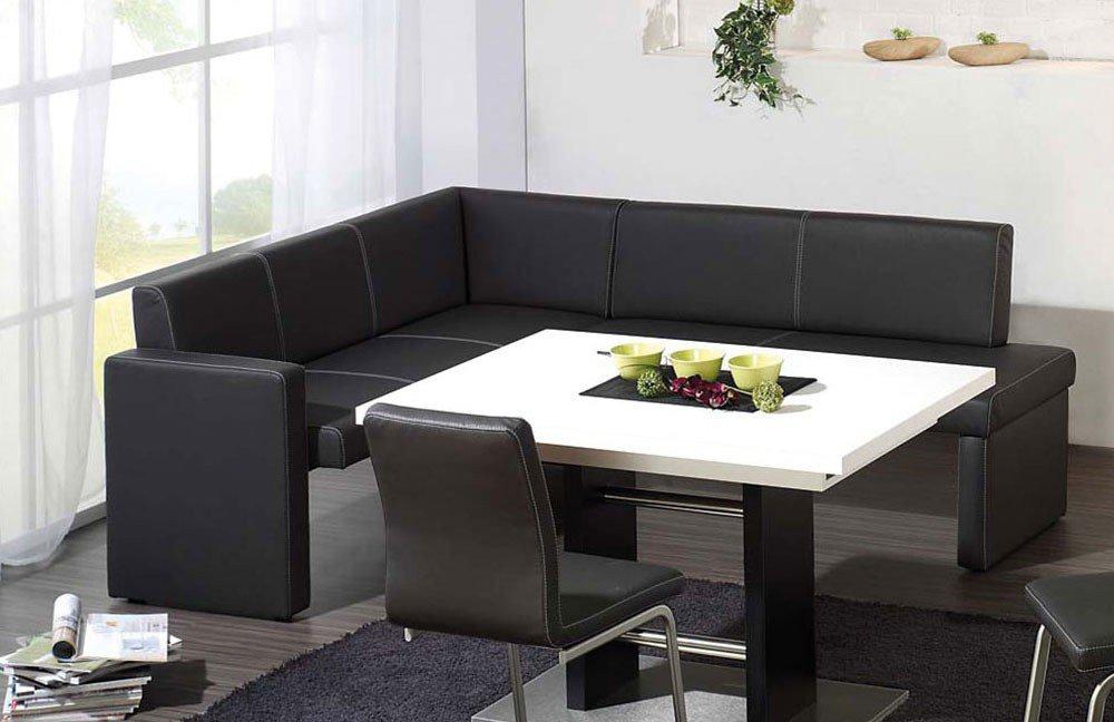 Eckbank Freestyle in Schwarz von K+W Formidable Home Collection ...