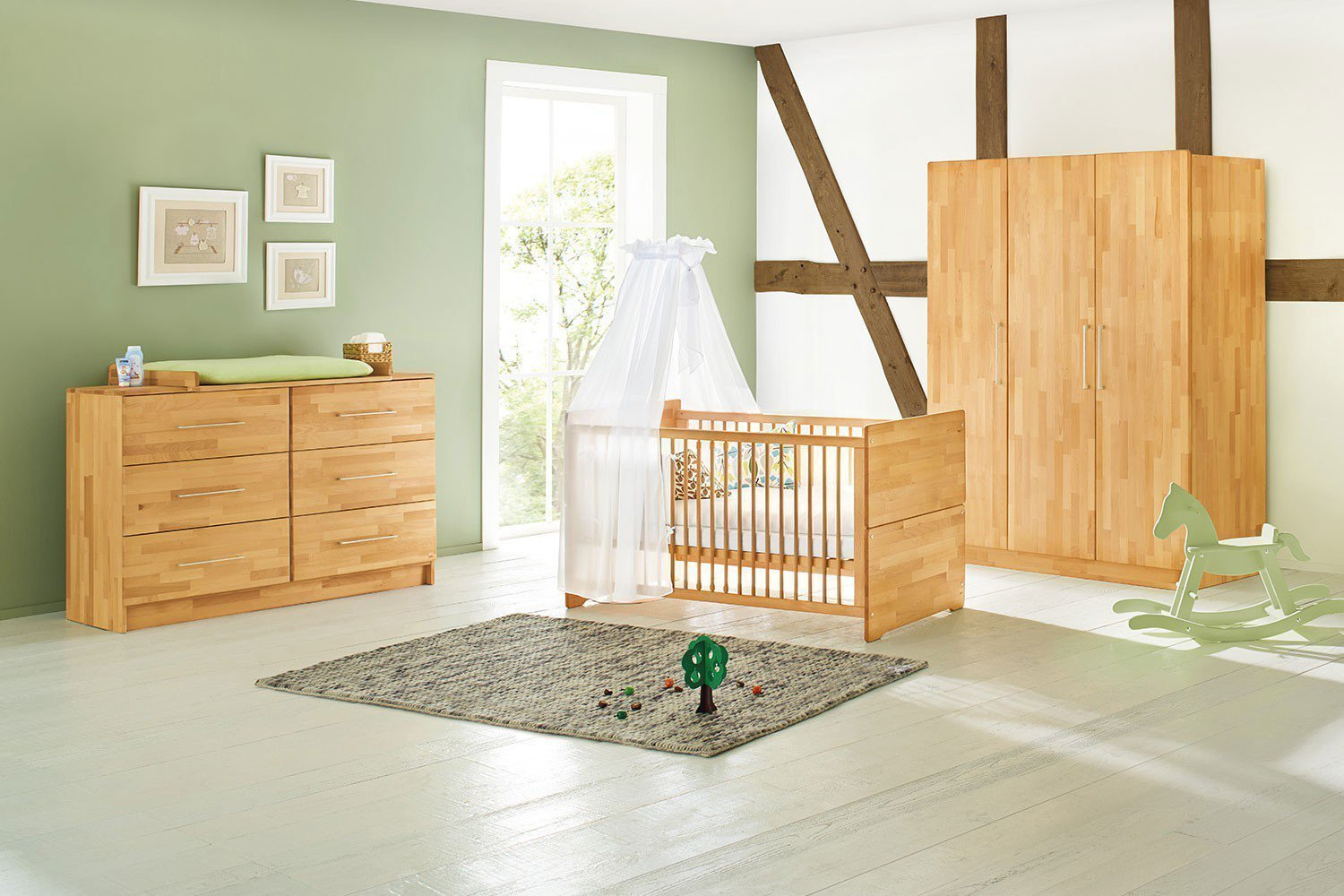 pinolino natura kinderzimmer massiv buche m bel letz. Black Bedroom Furniture Sets. Home Design Ideas