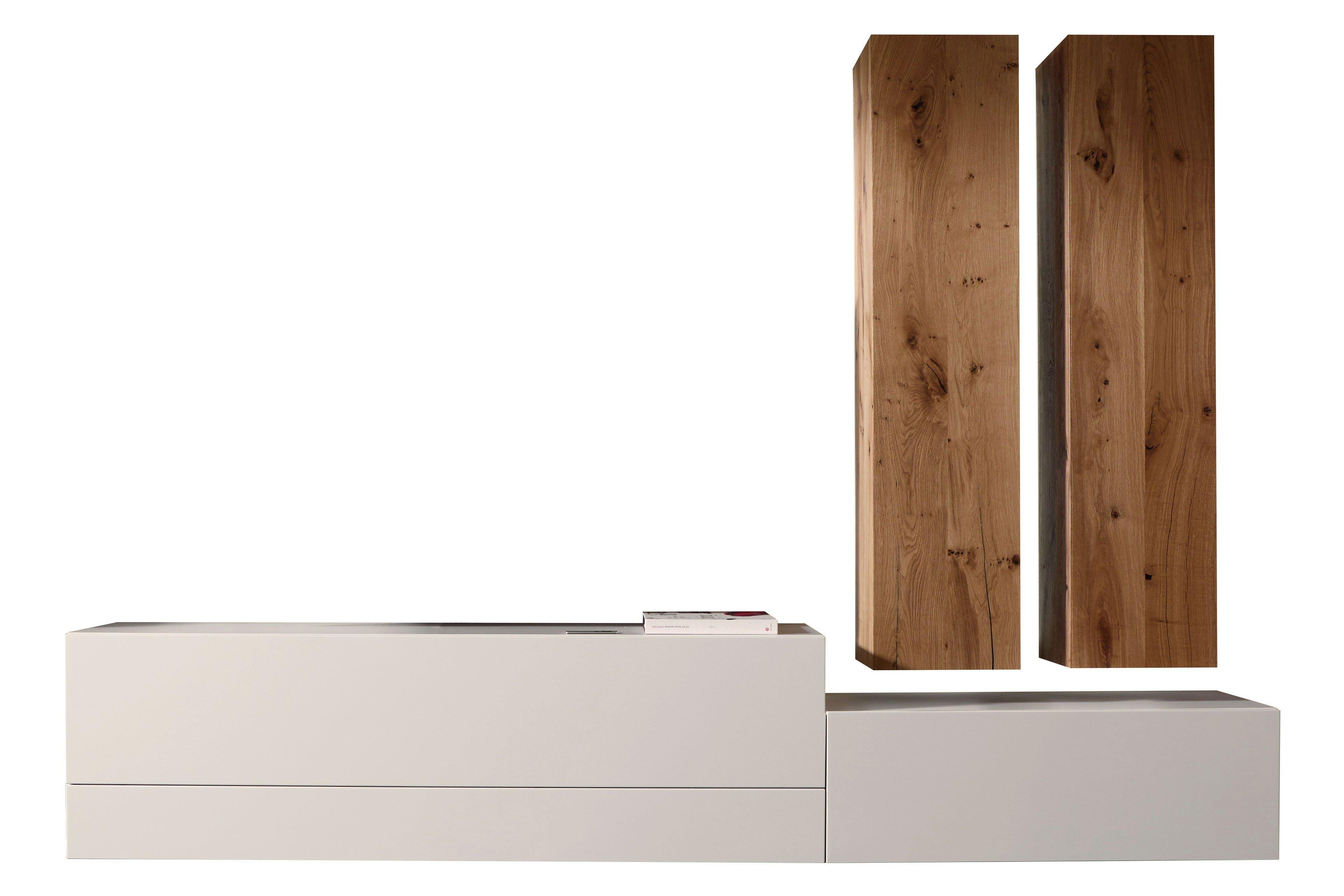 w stmann wohnwand nw 440 in bohleneiche bianco m bel letz ihr online shop. Black Bedroom Furniture Sets. Home Design Ideas