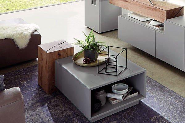 w stmann wohnwand nw 440 grau bohleneiche m bel letz ihr online shop. Black Bedroom Furniture Sets. Home Design Ideas