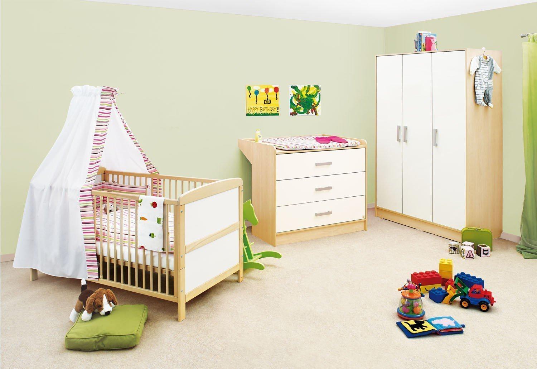 pinolino florian kinderzimmer ahorn cremewei m bel letz ihr online shop. Black Bedroom Furniture Sets. Home Design Ideas