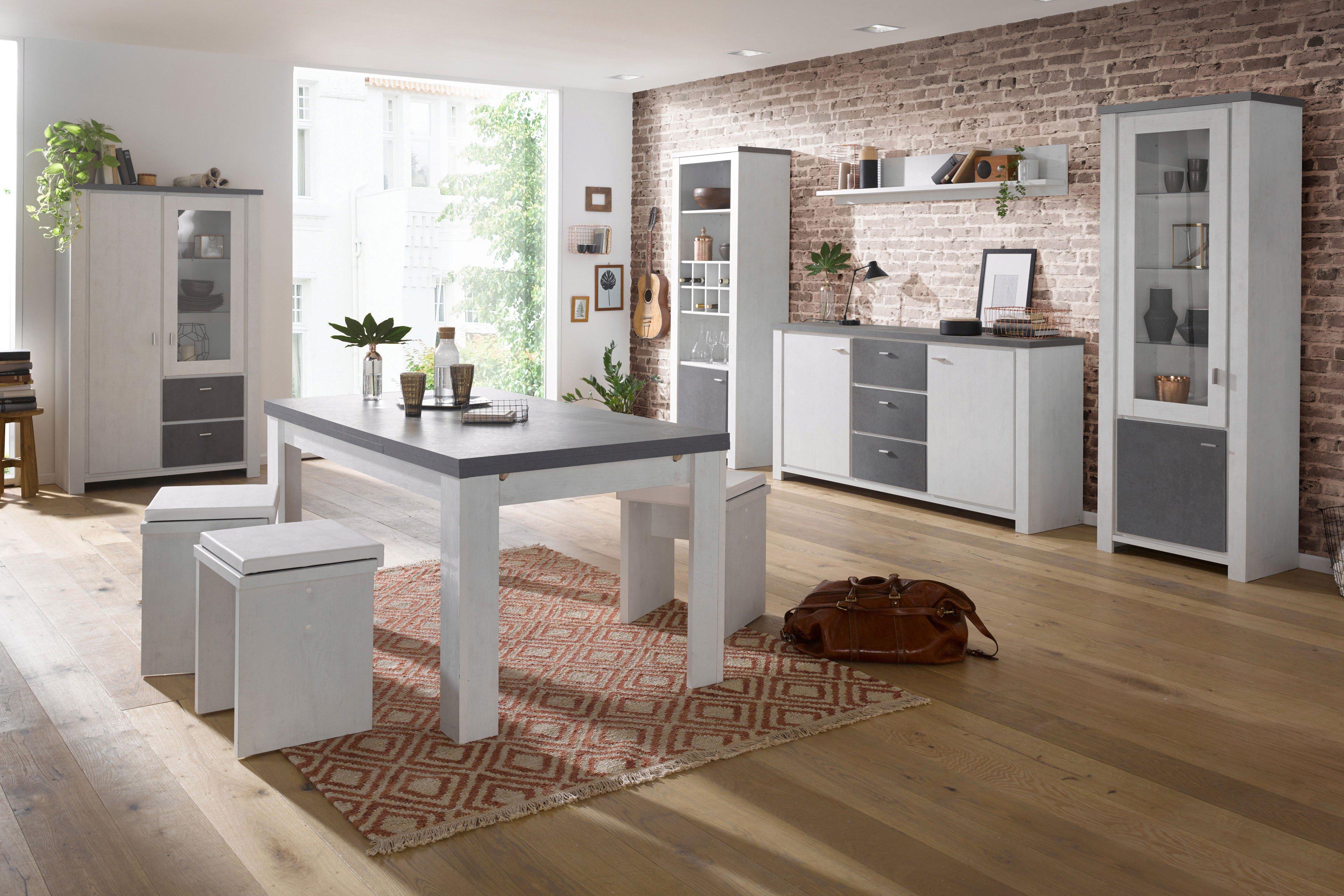esszimmer paddy paula eiche gewei t graphit von m usbacher m bel letz ihr online shop. Black Bedroom Furniture Sets. Home Design Ideas