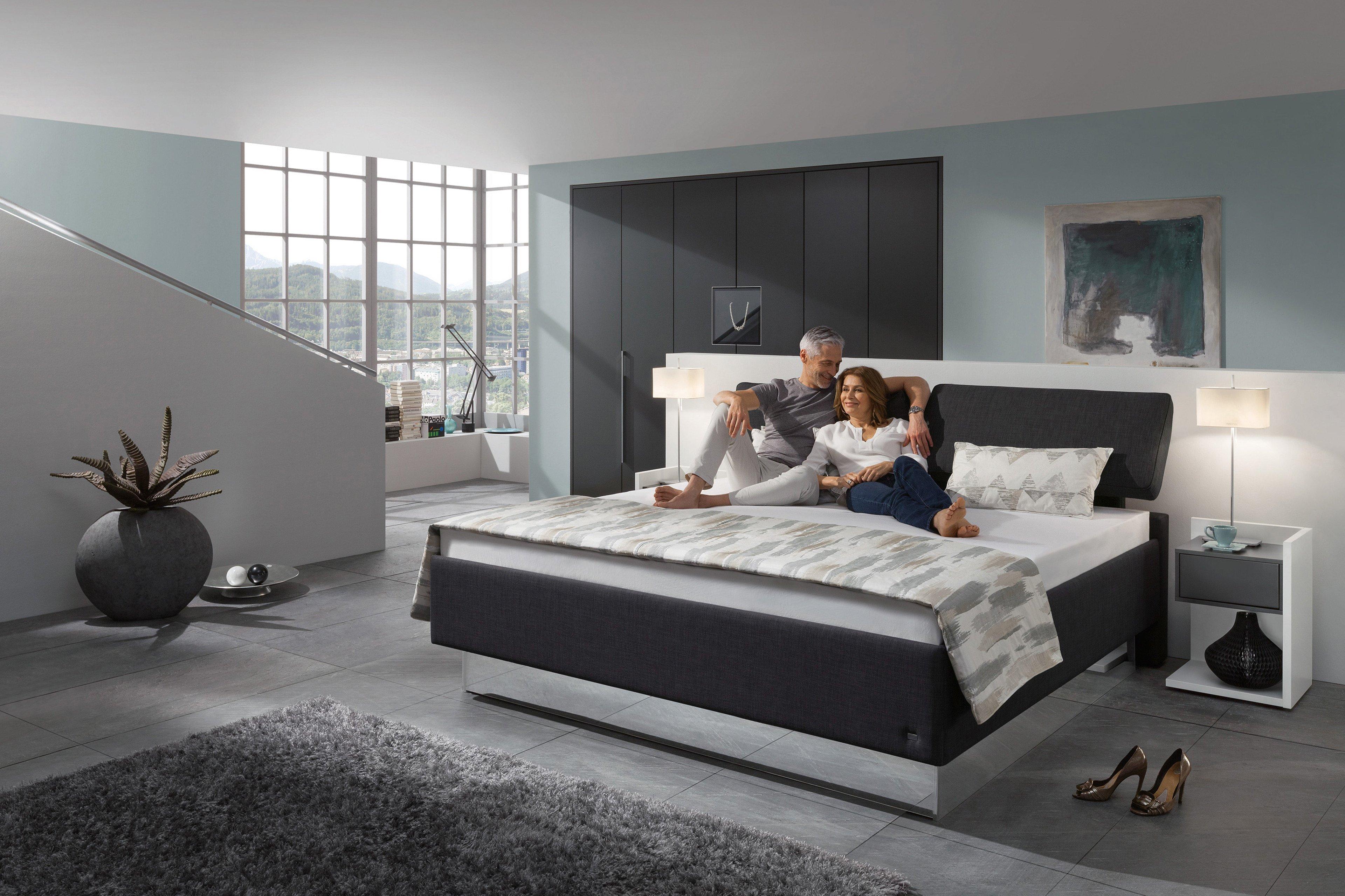 polsterbett von ruf modell composium mit abziehbarem kopfteil m bel letz ihr online shop. Black Bedroom Furniture Sets. Home Design Ideas