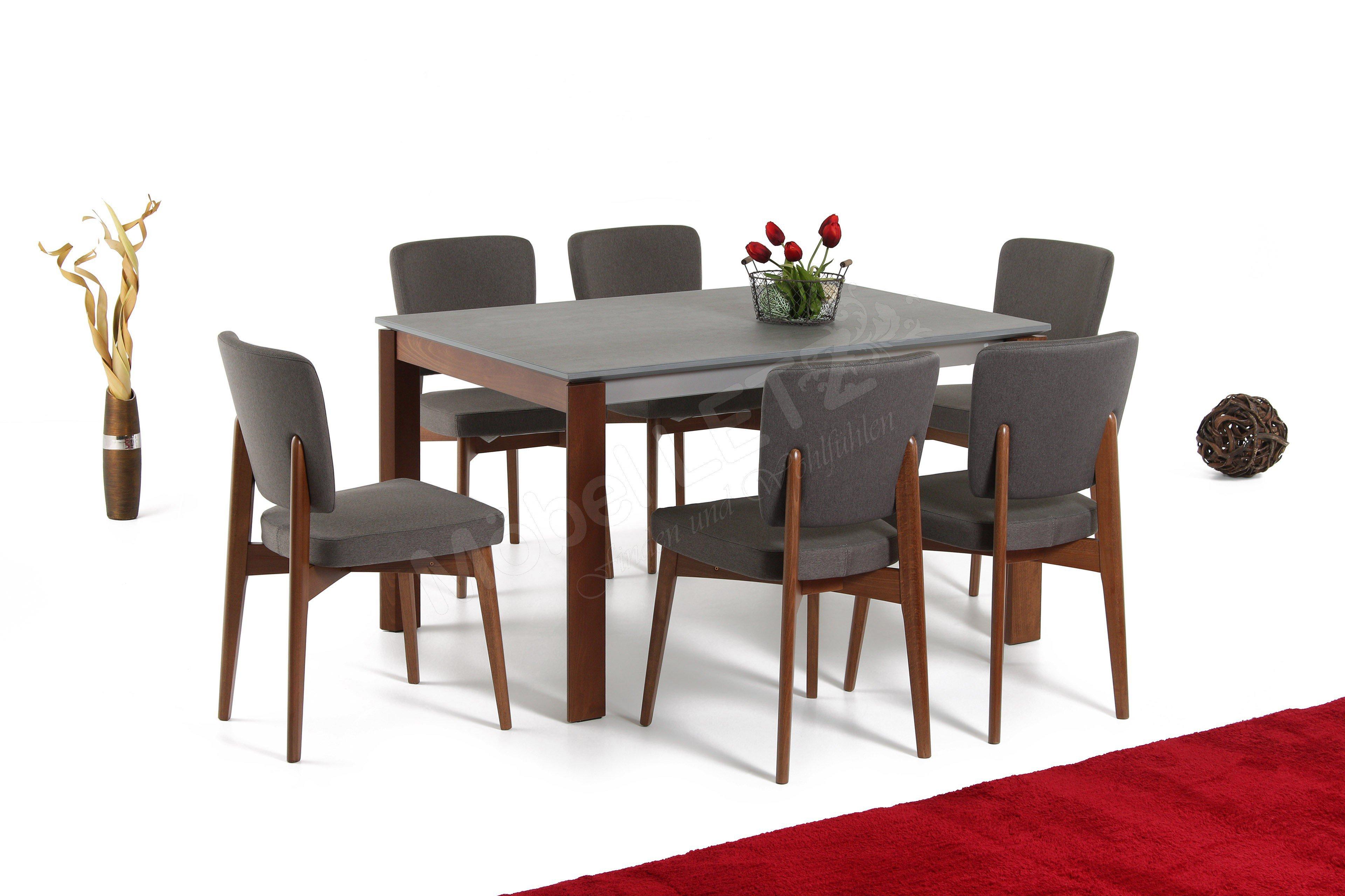 connubia by calligaris esstisch eminence keramik zement. Black Bedroom Furniture Sets. Home Design Ideas