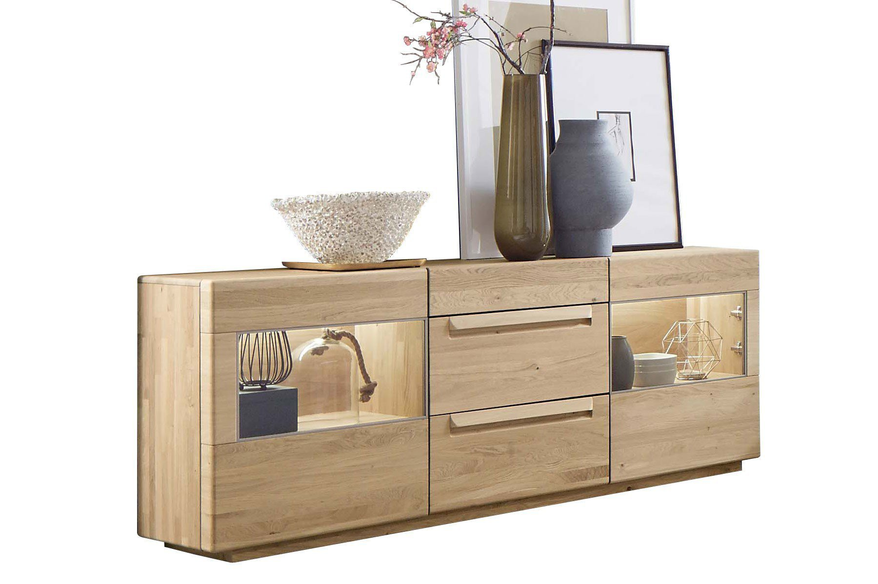 sideboard sapio wildeiche massiv von w stmann designm bel m bel letz ihr online shop. Black Bedroom Furniture Sets. Home Design Ideas