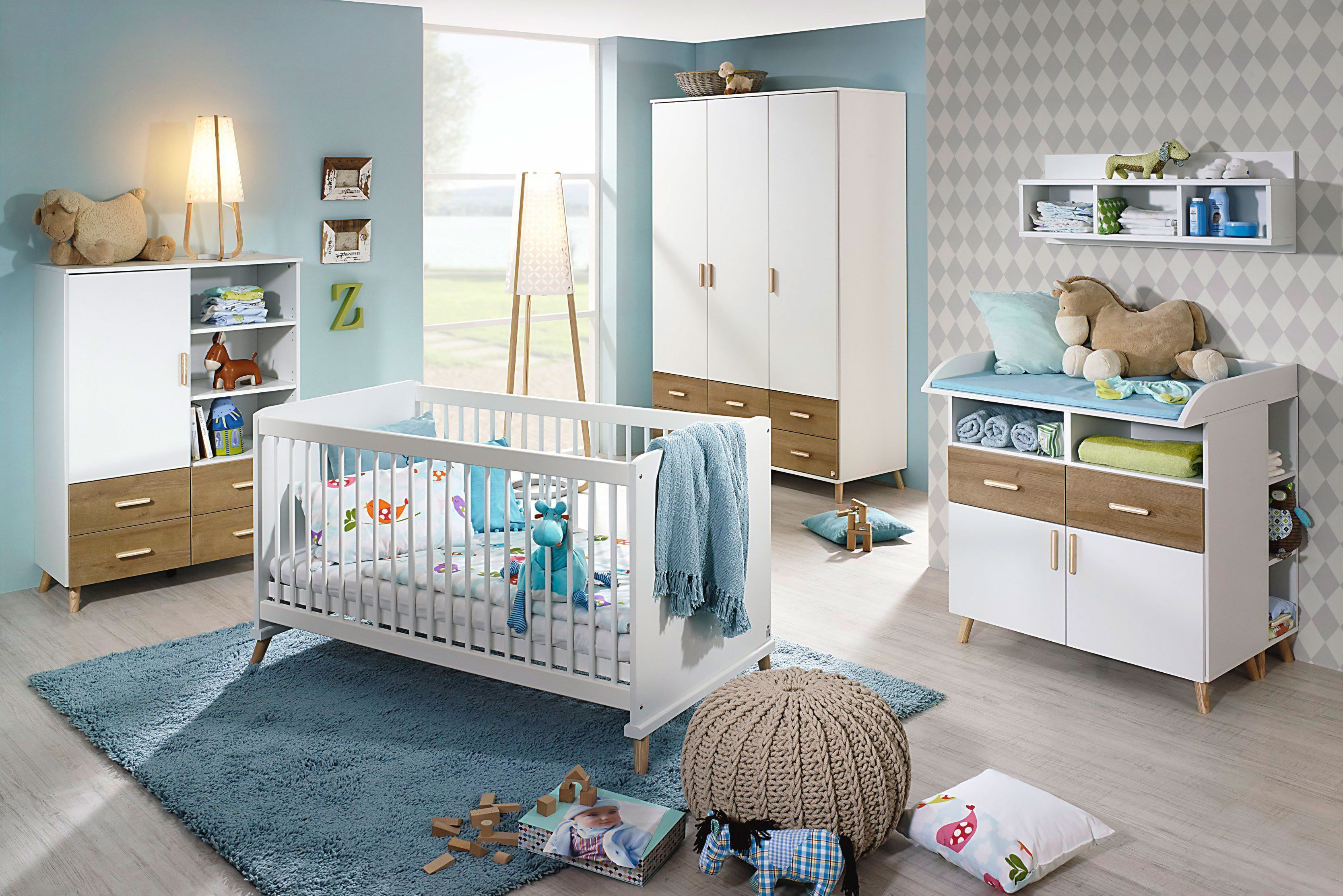 babyzimmer sonoma eiche awesome ukommode with babyzimmer sonoma eiche excellent babyzimmer. Black Bedroom Furniture Sets. Home Design Ideas
