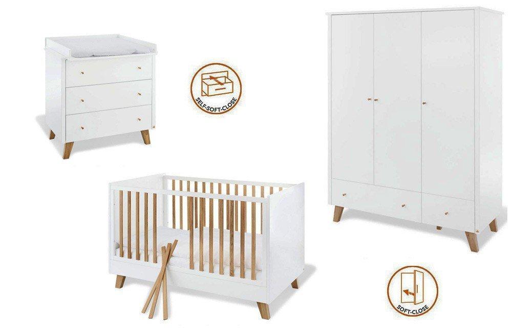 Pinolino Pan pinolino pan babyzimmer eiche & weiß | möbel letz - ihr online-shop
