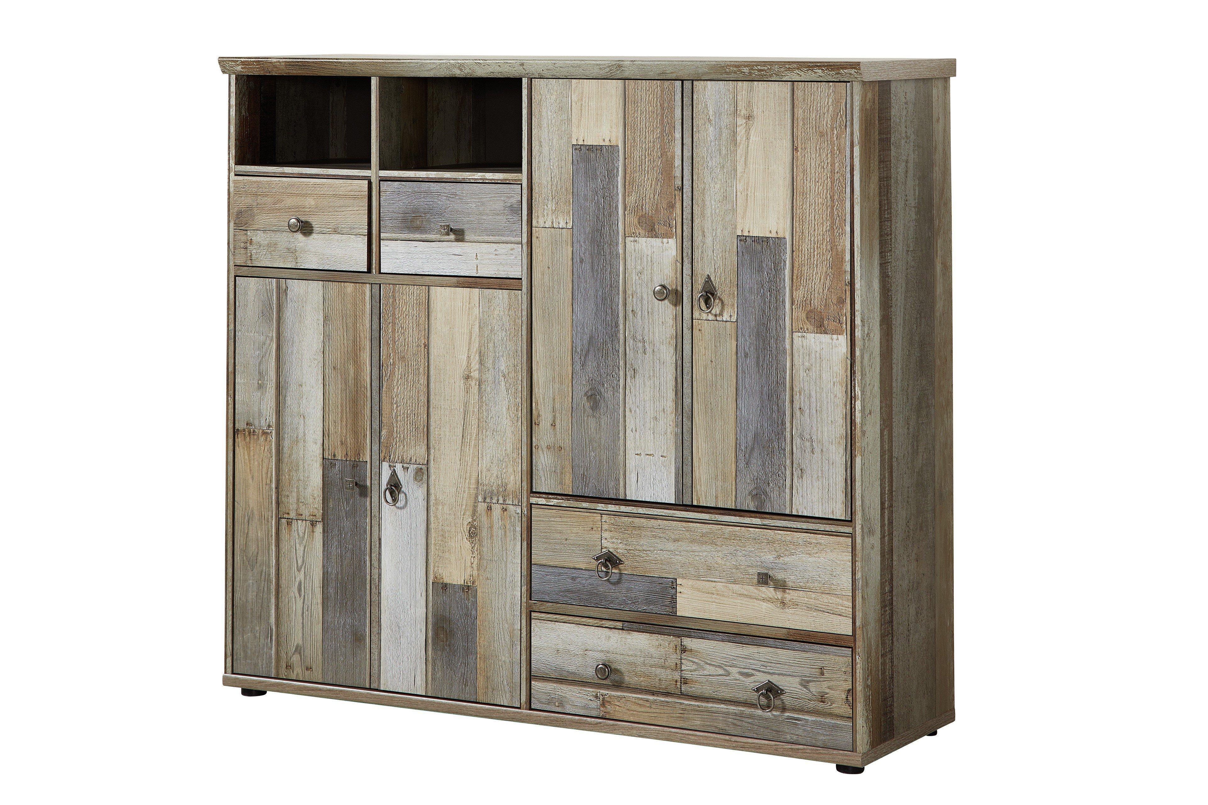 Innostyle Schuhschrank Bonanza Driftwood | Möbel Letz - Ihr Online-Shop