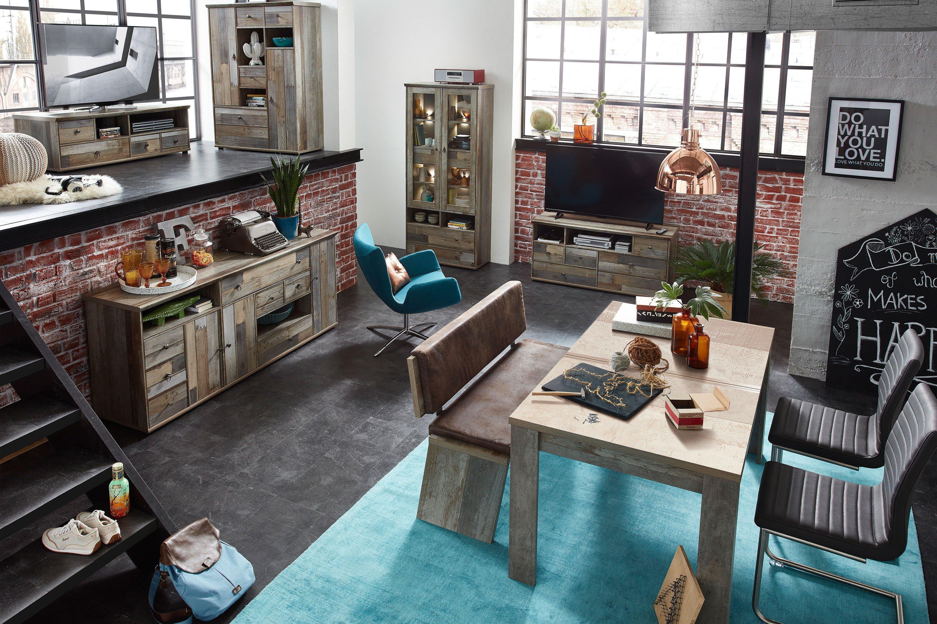 innostyle tisch bonanza driftwood m bel letz ihr online shop. Black Bedroom Furniture Sets. Home Design Ideas