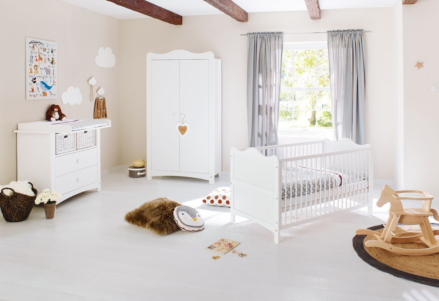 pinolino babyzimmer florentina wei m bel letz ihr online shop. Black Bedroom Furniture Sets. Home Design Ideas