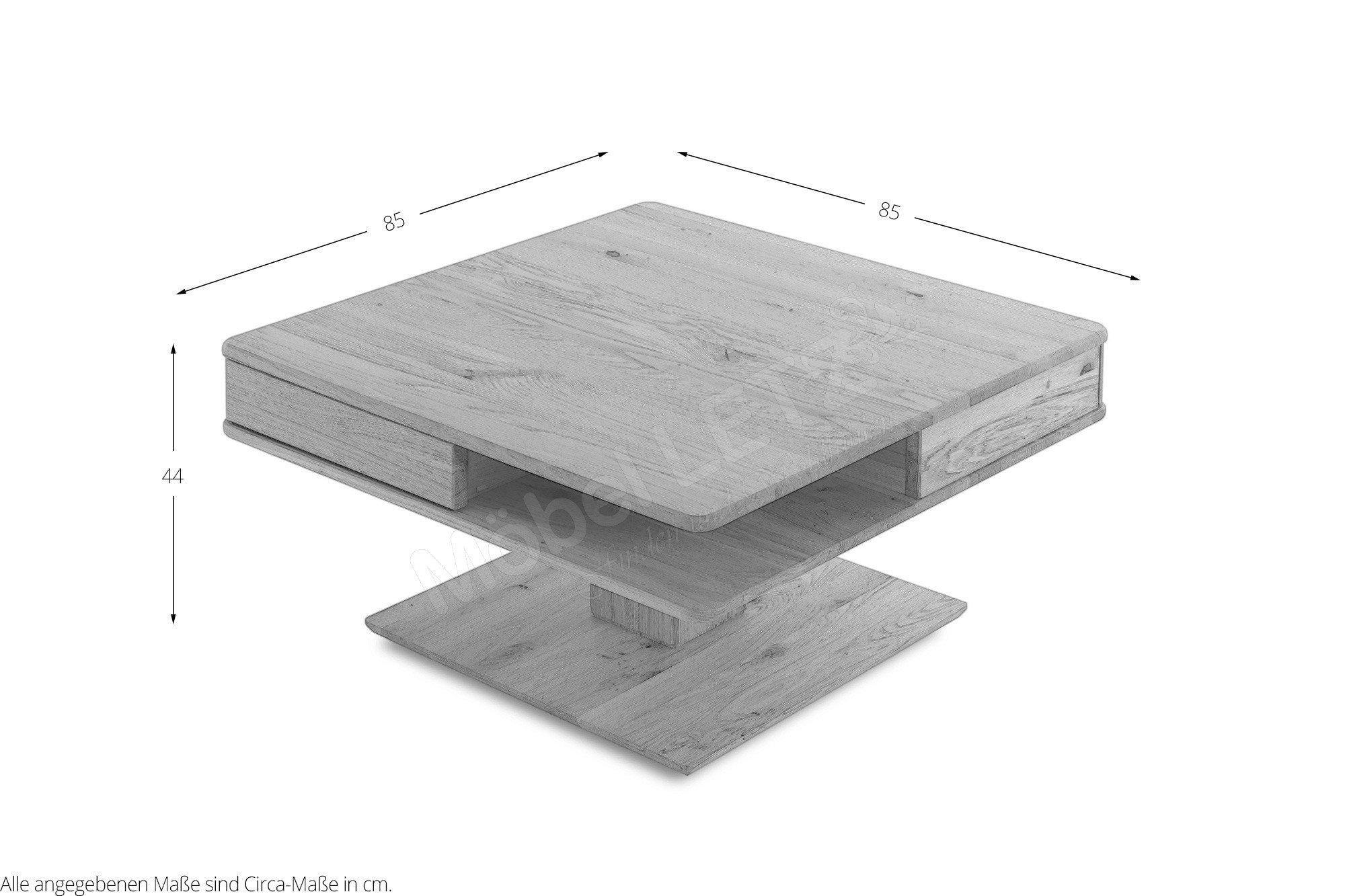 woodlive quadro couchtisch 52011000 wildeiche m bel letz ihr online shop. Black Bedroom Furniture Sets. Home Design Ideas