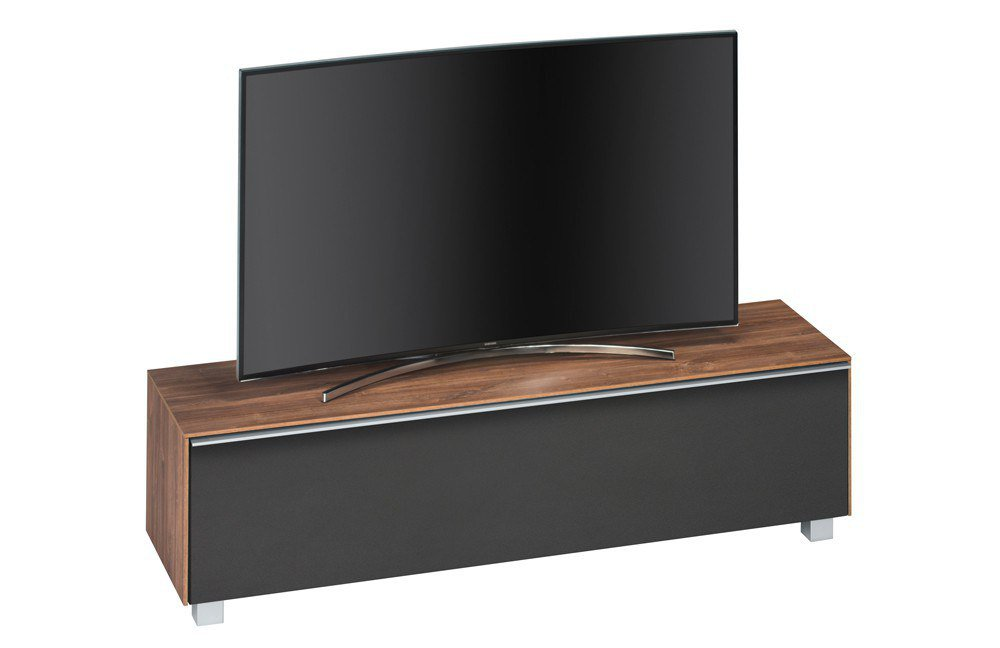 Lowboard Selber Machen maja möbel lowboard soundconcept wood eiche schwarz möbel letz