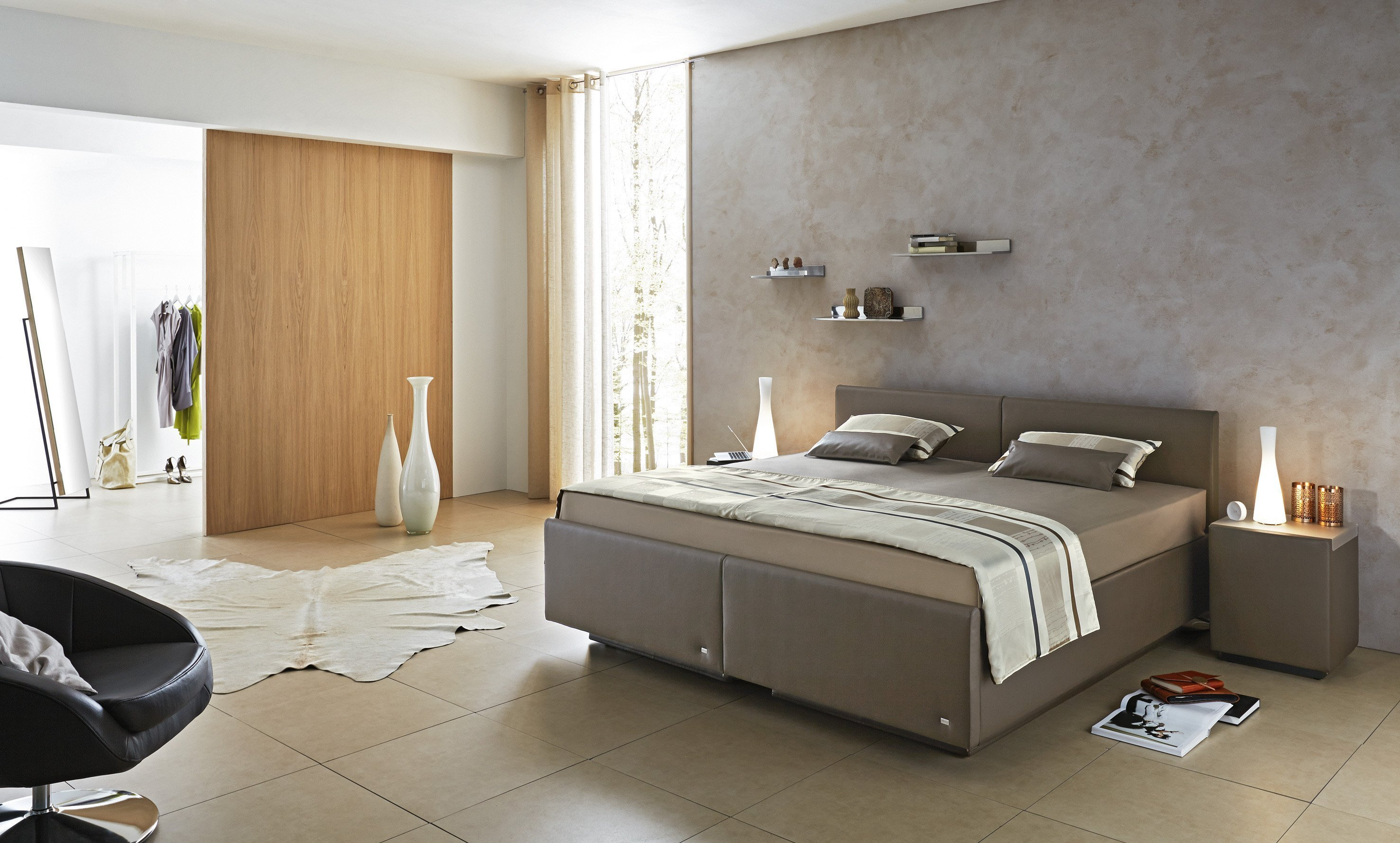 ruf uno due polsterbett in braun m bel letz ihr online shop. Black Bedroom Furniture Sets. Home Design Ideas