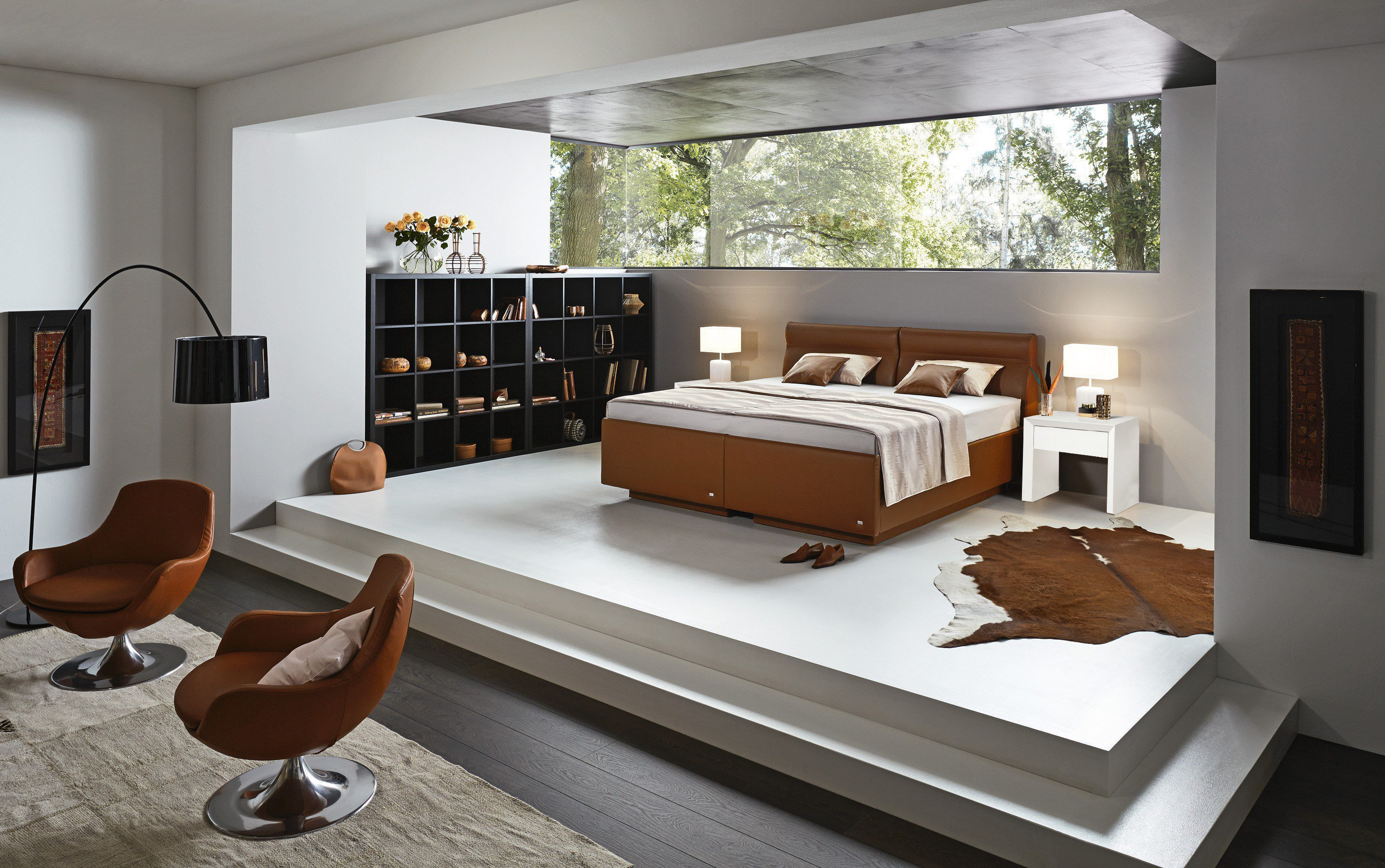 polsterbett von ruf modell uno due mit bettkasten m bel. Black Bedroom Furniture Sets. Home Design Ideas