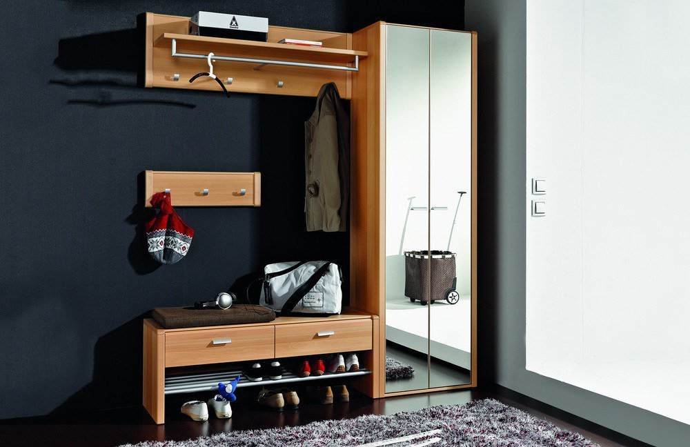 lugano von leinkenjost dielen set buche natur dielenm bel und flurm bel online kaufen. Black Bedroom Furniture Sets. Home Design Ideas