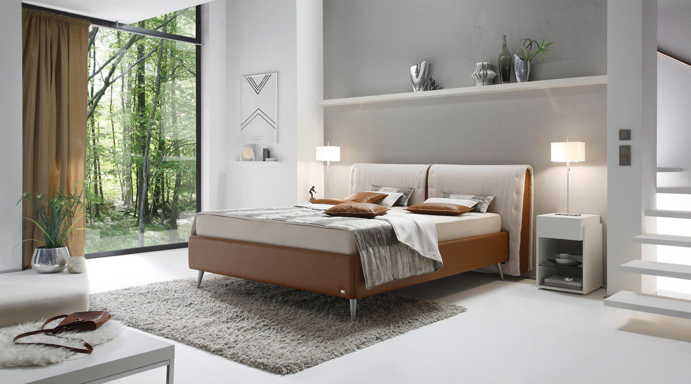 ruf fulari boxspringbett in rehbraun m bel letz ihr. Black Bedroom Furniture Sets. Home Design Ideas