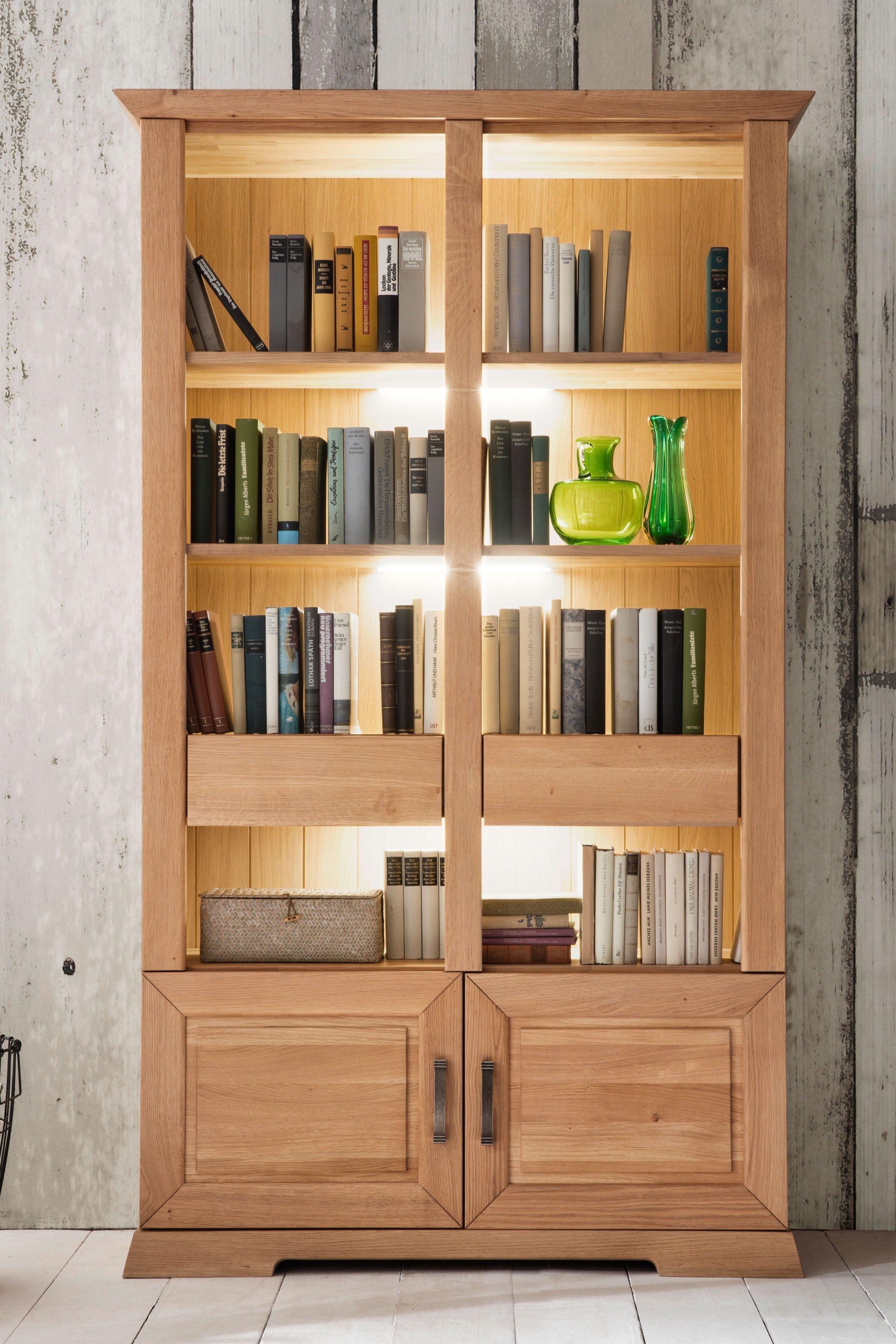Exceptional Einfache Dekoration Und Mobel Die Heimbibliothek Mit Dem Gewissen Extra #7: Aida Von Quadrato - Bibliothek Wildeiche