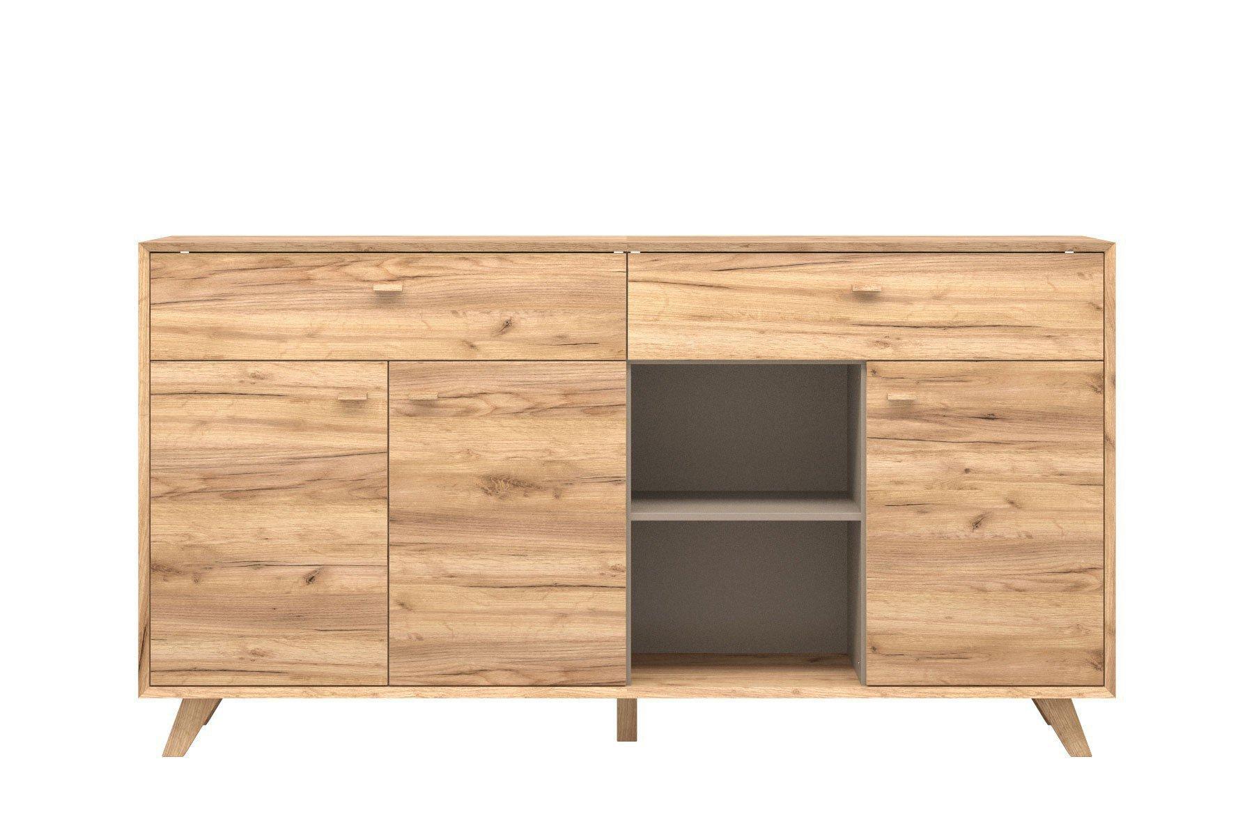 germania sideboard calvi navarra eiche m bel letz ihr. Black Bedroom Furniture Sets. Home Design Ideas