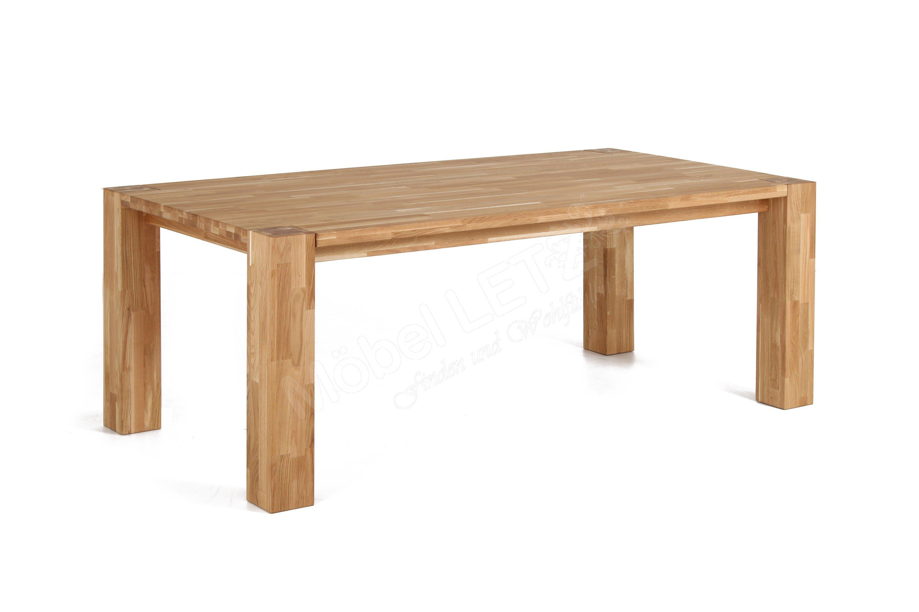 Wunderschön Tisch Massiv Ideen Von Big Oak Von Massiv.direkt - Wildeiche Ca.