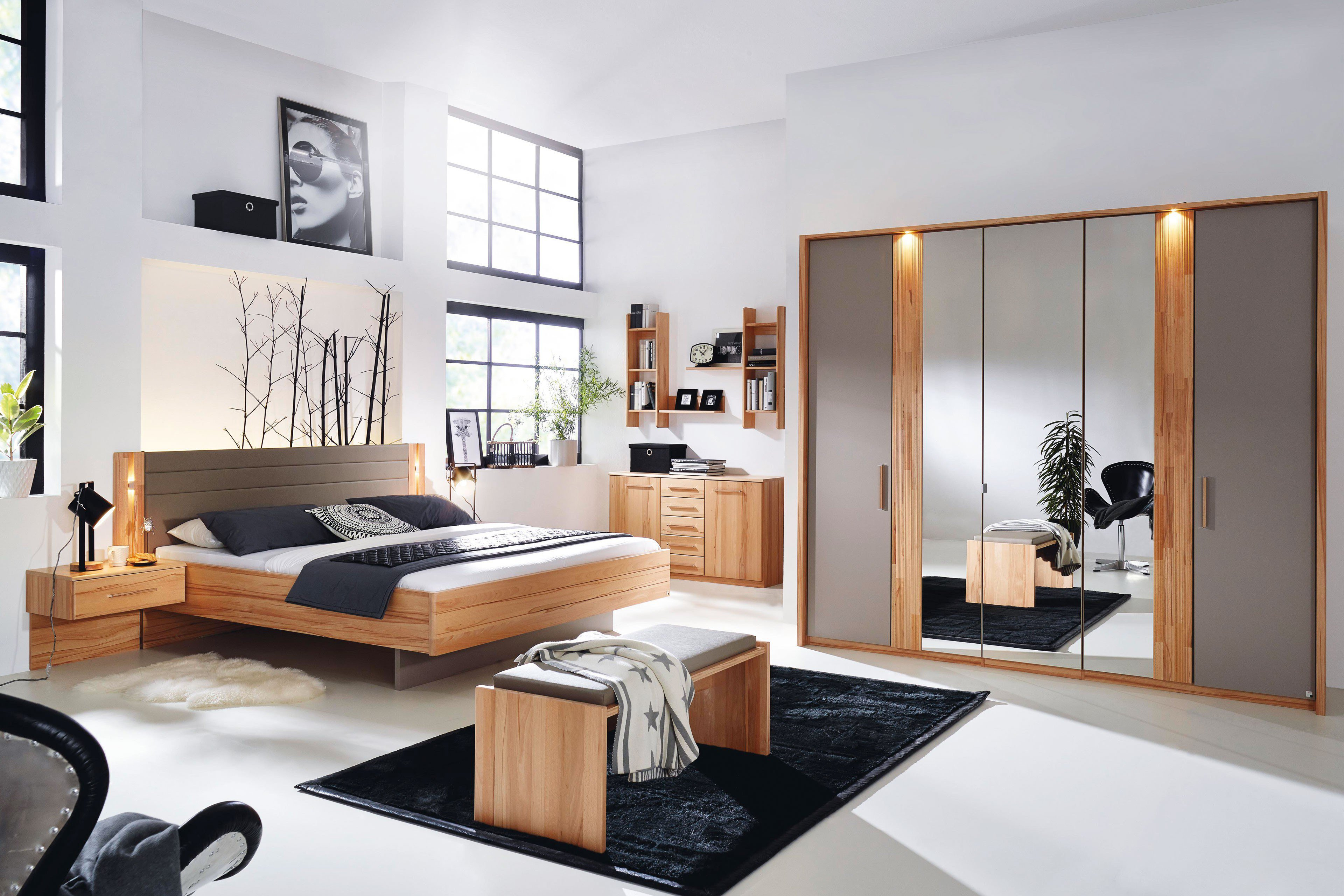 rauch paavo schlafzimmer kernbuche fango m bel letz ihr online shop. Black Bedroom Furniture Sets. Home Design Ideas
