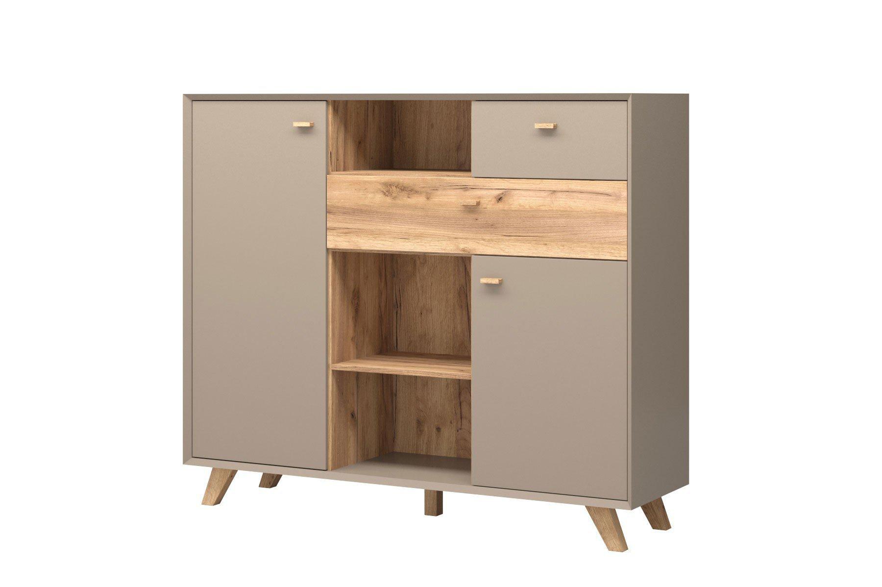 germania kommode calvi steingrau eiche m bel letz ihr online shop. Black Bedroom Furniture Sets. Home Design Ideas