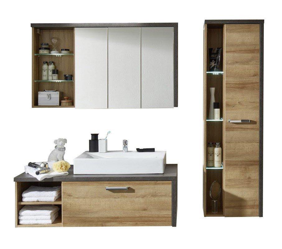 trendteam badezimmer bay eiche m bel letz ihr online shop. Black Bedroom Furniture Sets. Home Design Ideas