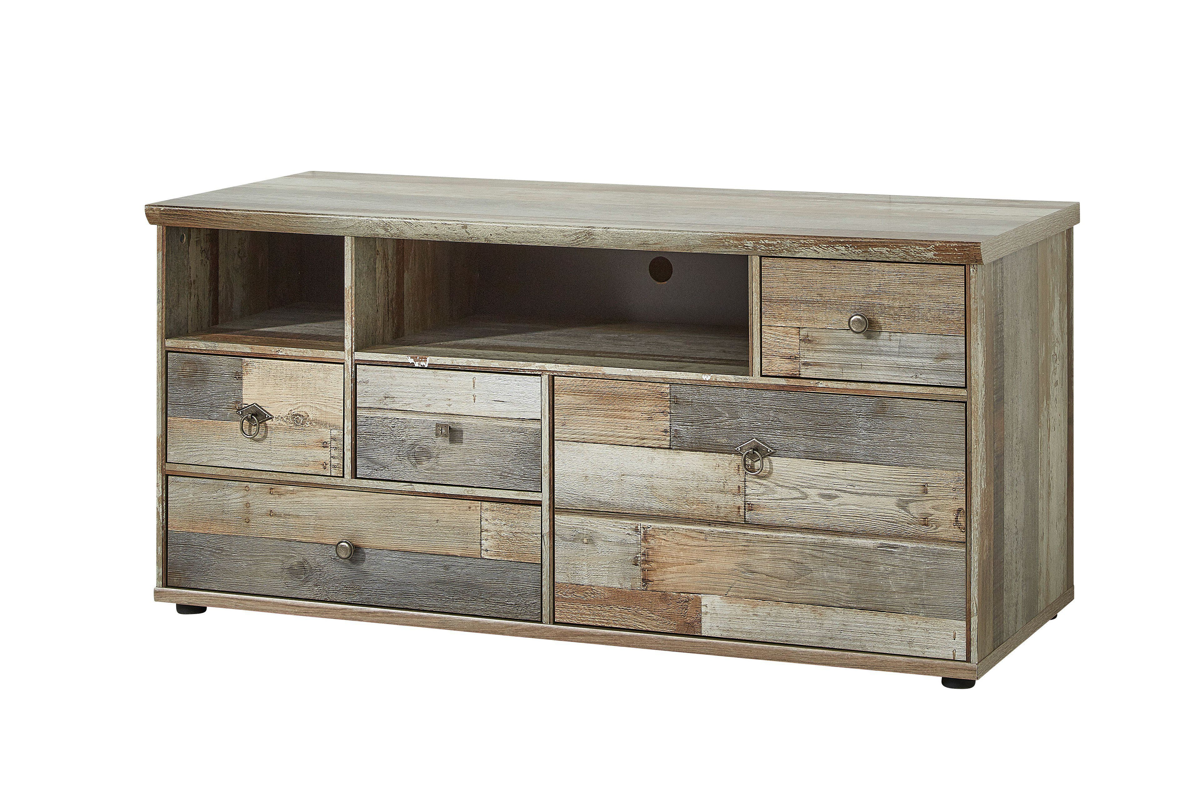 innostyle lowboard bonanza driftwood grau m bel letz. Black Bedroom Furniture Sets. Home Design Ideas