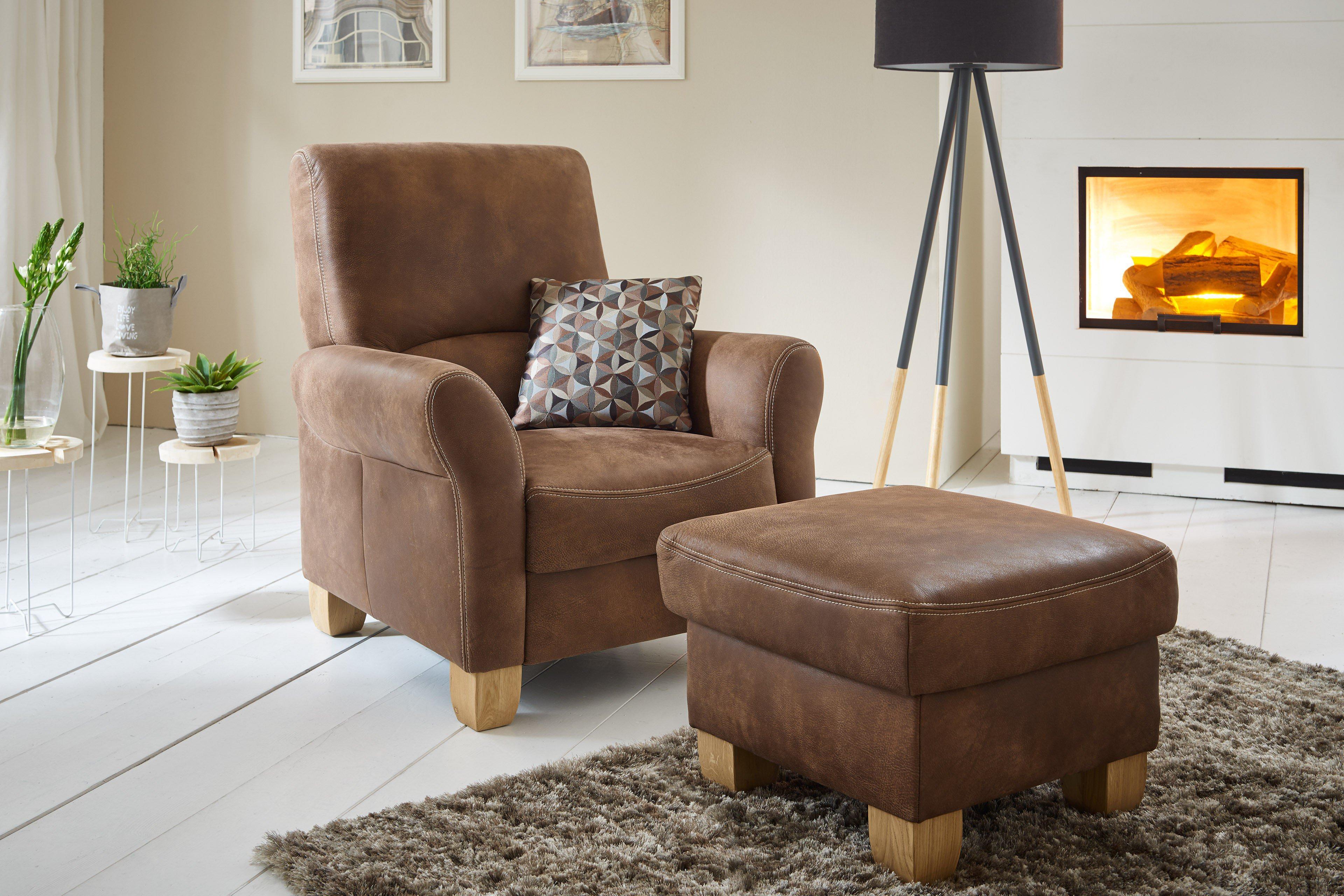 Einzelsessel braun  Polinova Landart-L Einzelsessel braun | Möbel Letz - Ihr Online-Shop