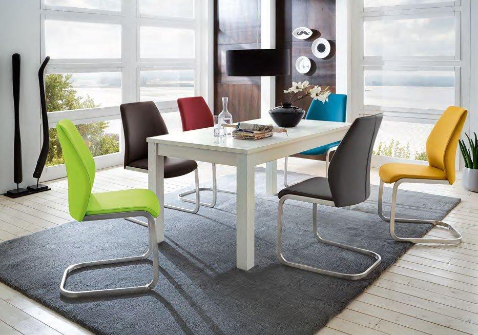 Esszimmer Von Niehoff Sitzmöbel   Tisch 3973 U0026 Stühle 3821