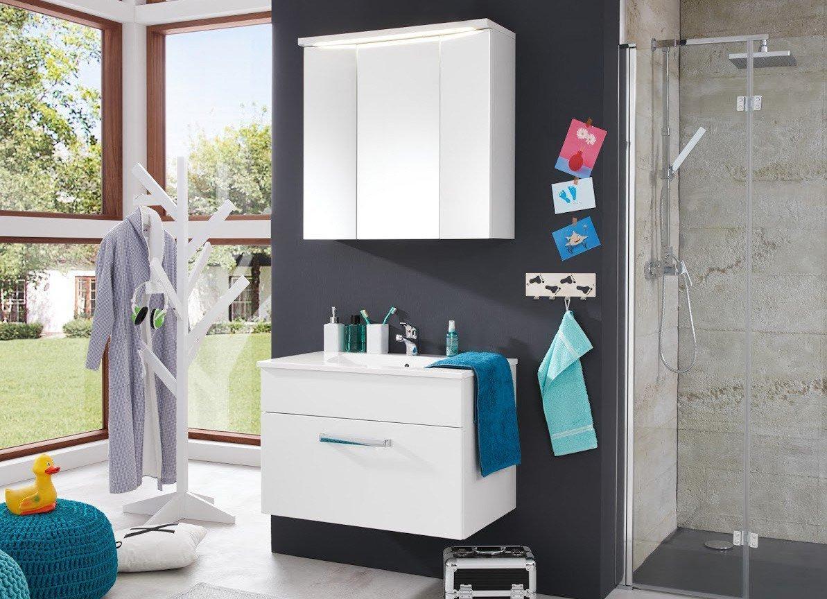 Trendteam Badezimmer Adamo weiß | Möbel Letz - Ihr Online-Shop