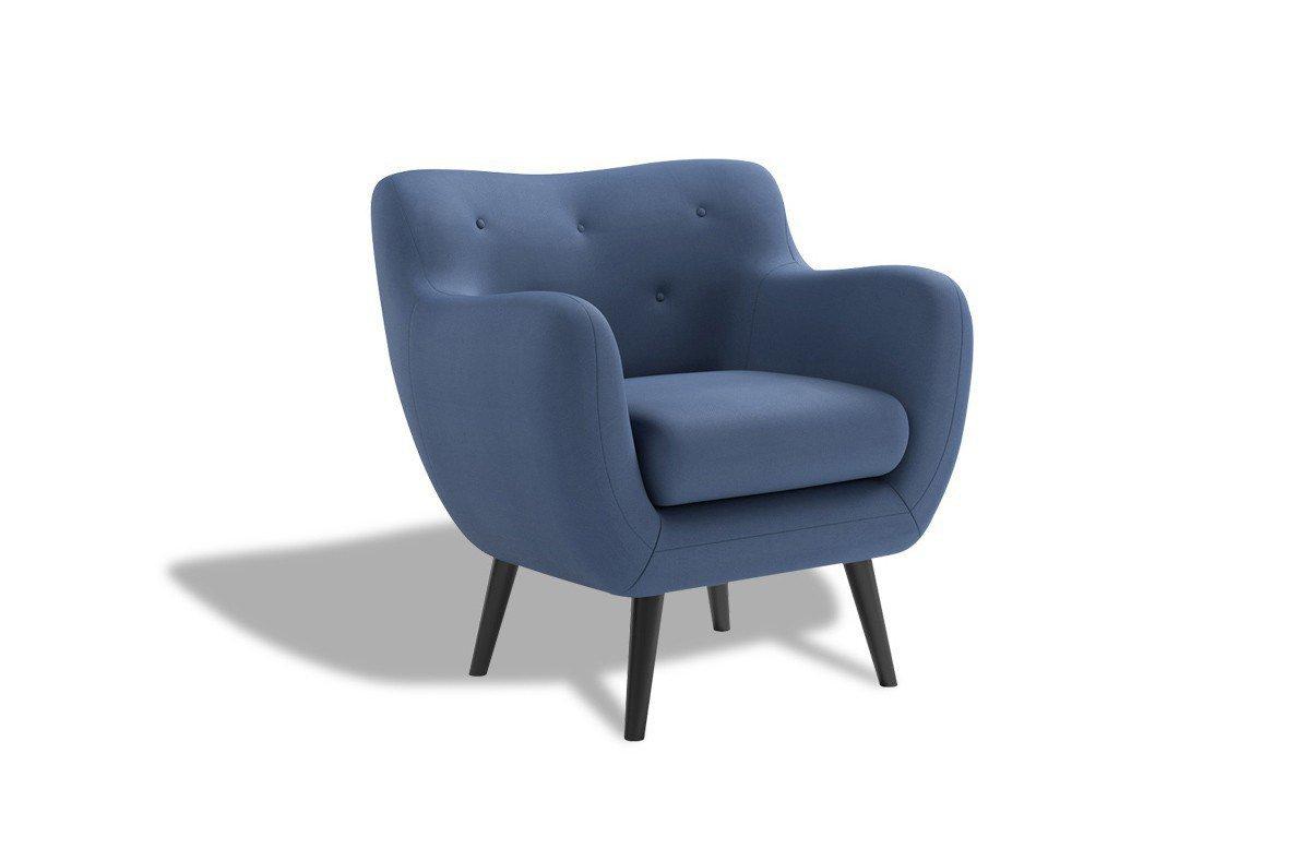 New Look George Polstersessel in Blau | Möbel Letz - Ihr Online-Shop