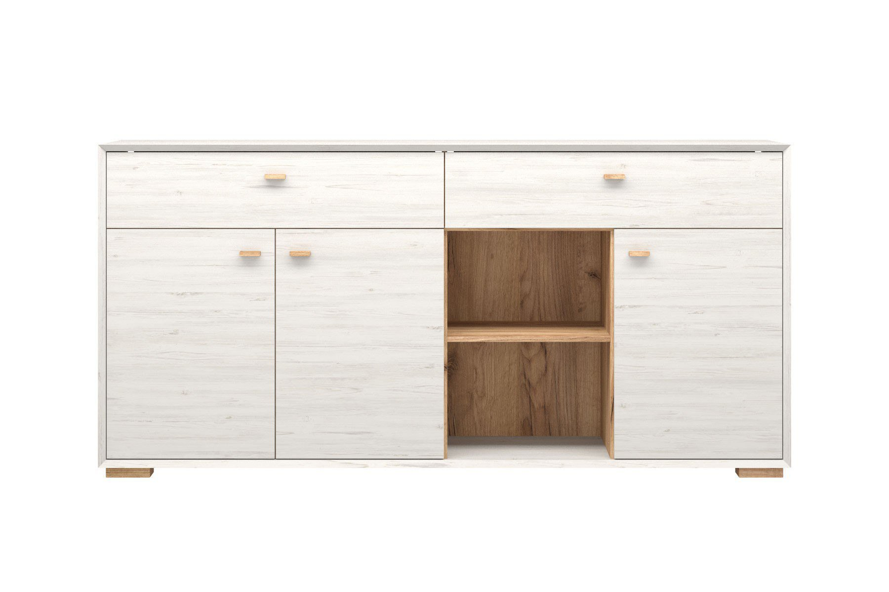 germania sideboard calvi pinie wei eiche m bel letz ihr online shop. Black Bedroom Furniture Sets. Home Design Ideas