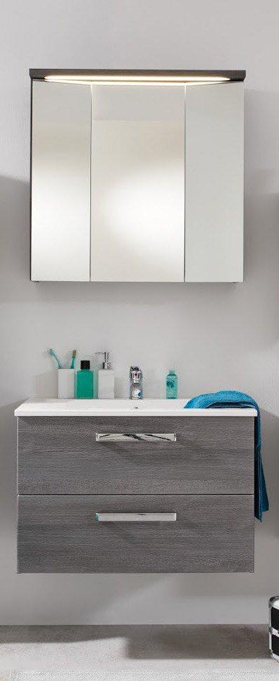 Trendteam badezimmer adamo sardegna rauchsilber m bel for Badezimmer konfigurator