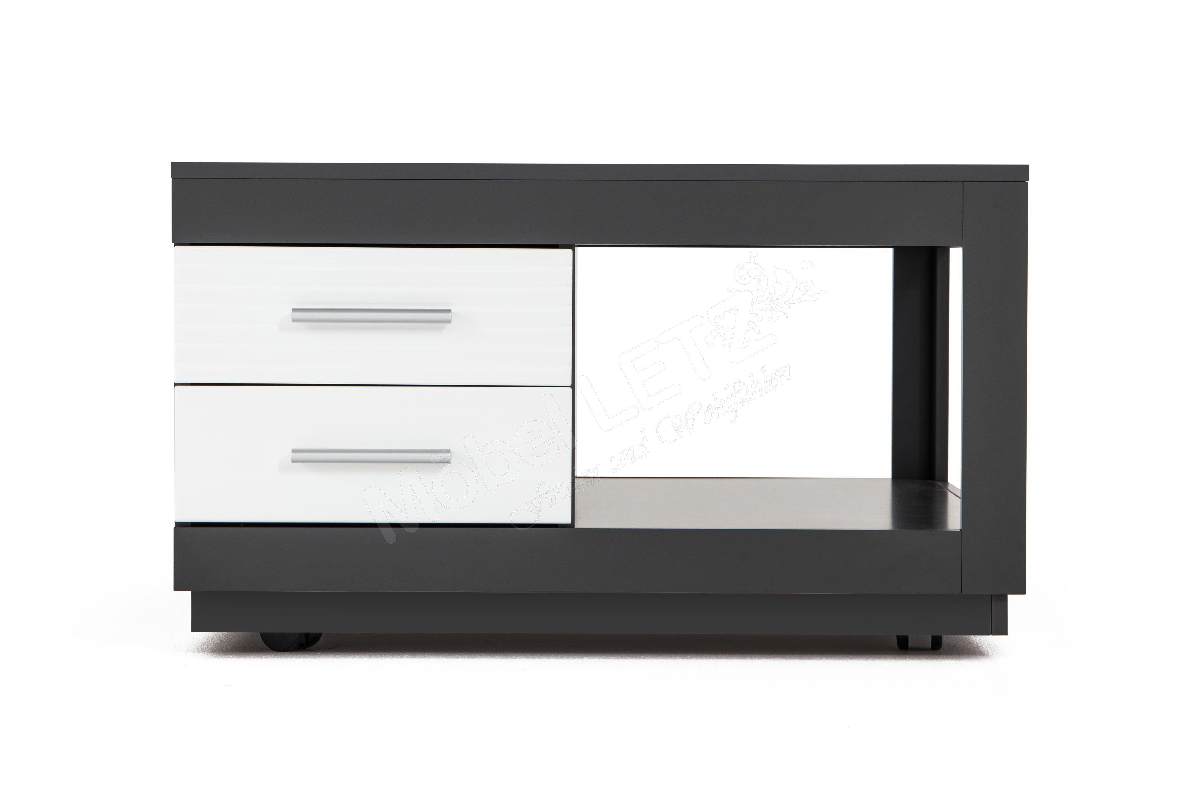 stolkom couchtisch kolibri grau wei m bel letz ihr online shop. Black Bedroom Furniture Sets. Home Design Ideas