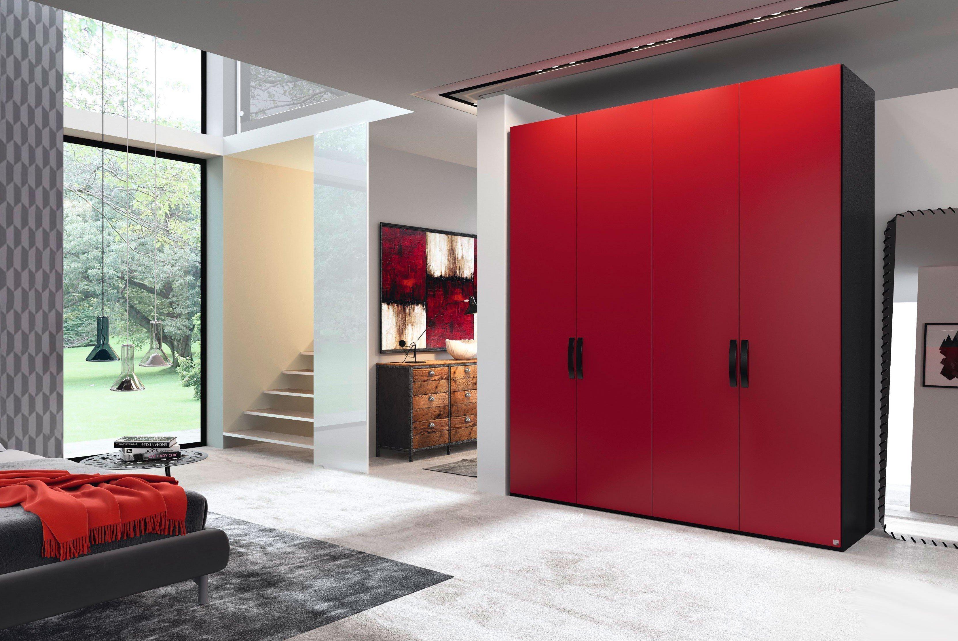 rauch yourjoyce kleiderschrank rot m bel letz ihr. Black Bedroom Furniture Sets. Home Design Ideas