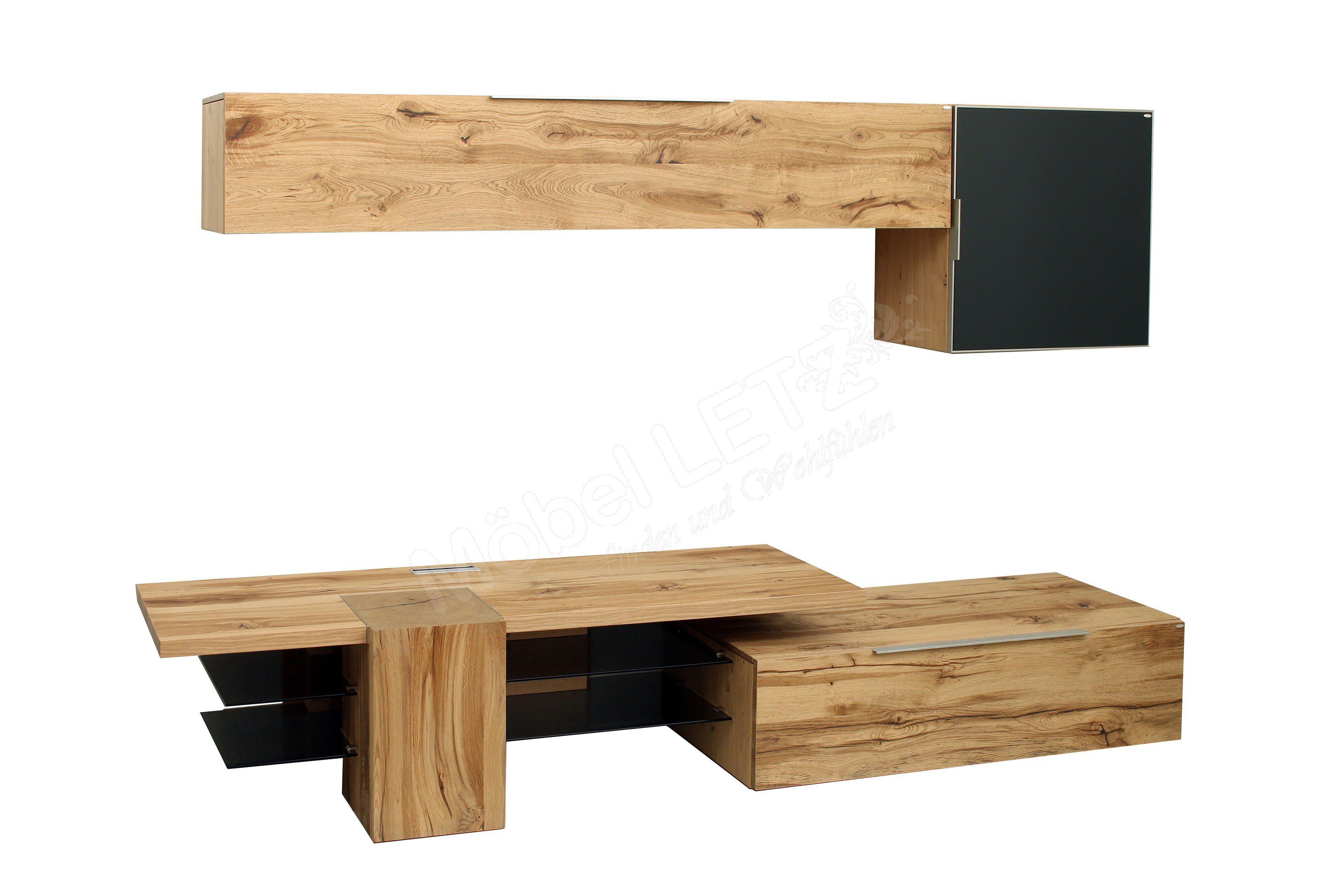 voglauer wohnwand v alpin mit beleuchtung m bel letz. Black Bedroom Furniture Sets. Home Design Ideas