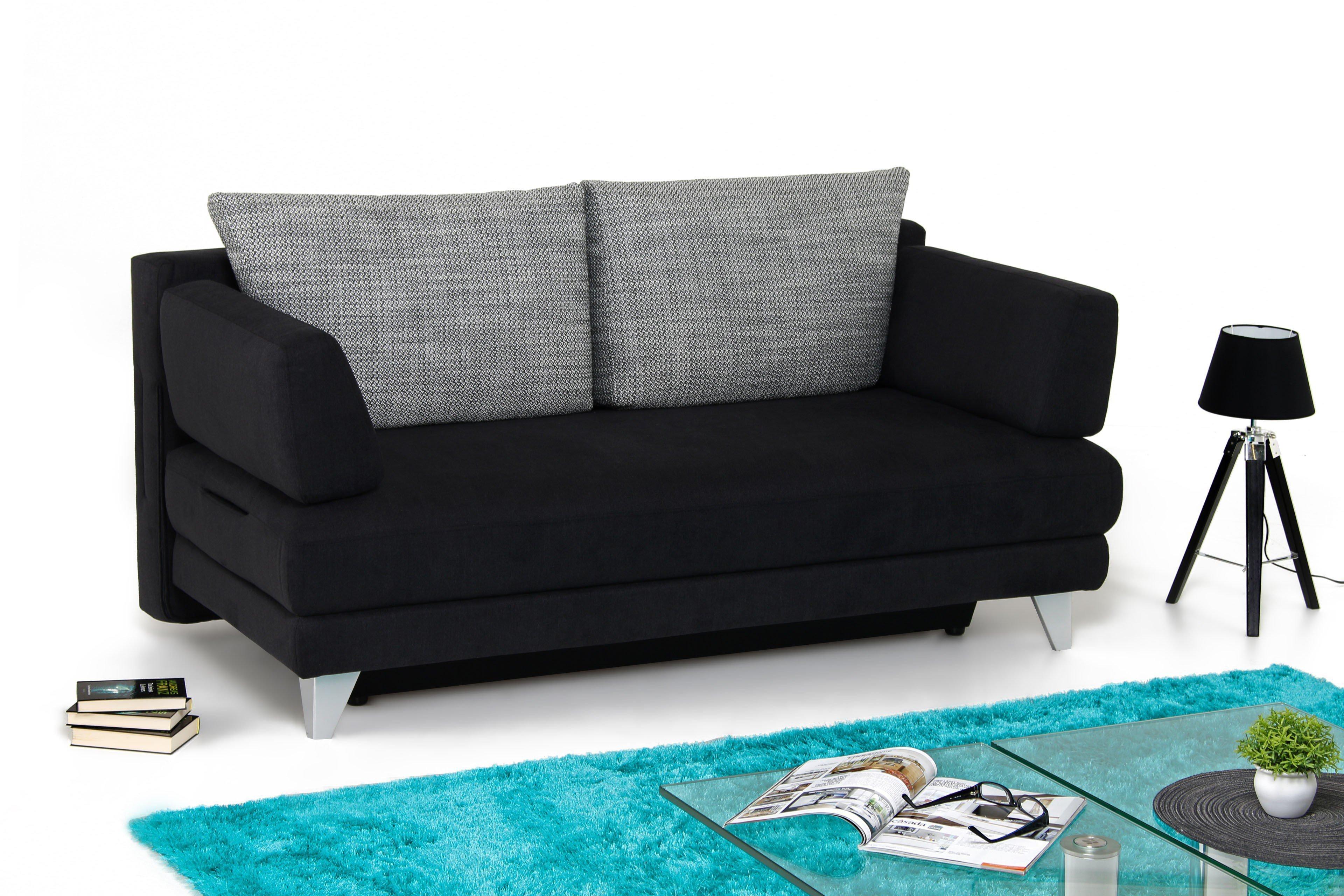 Doppelbettcouch Mit Bettkasten schlafsofa bali polstermöbel mit bettkasten möbel letz
