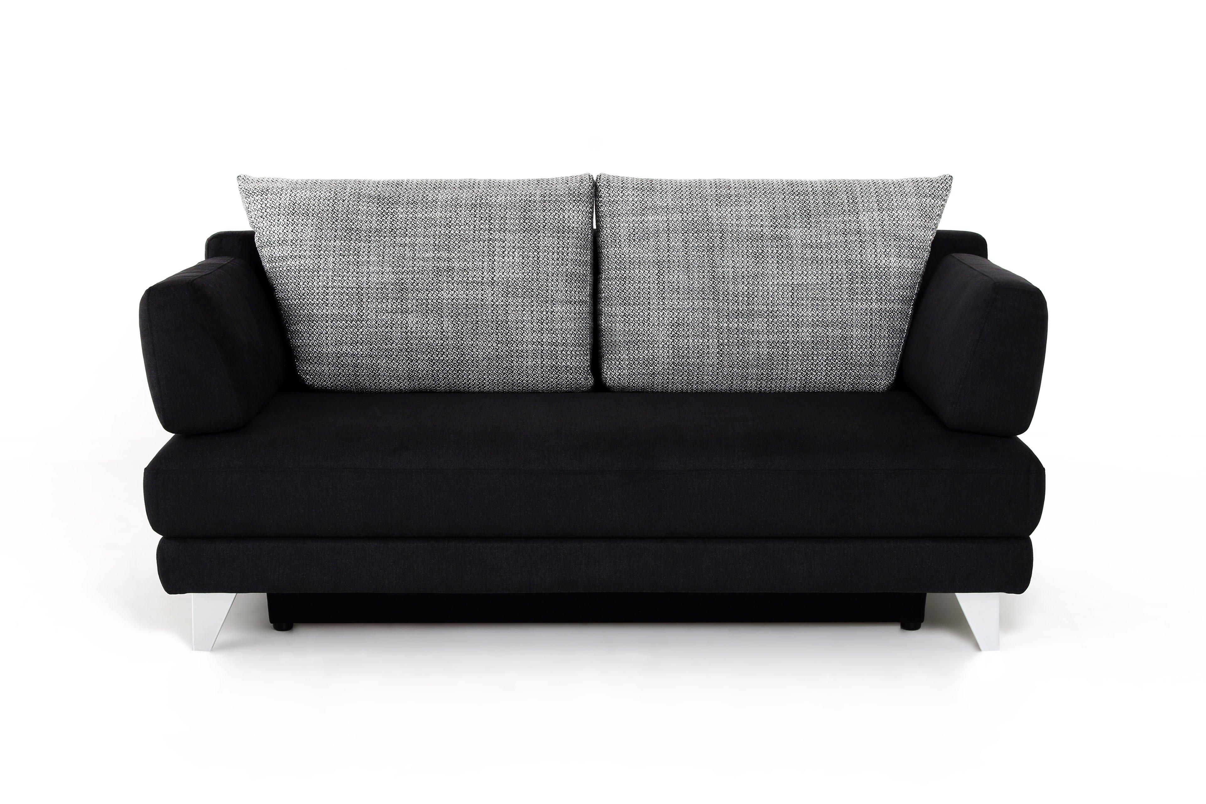 anna von bali schlafsofa schwarz mit bettkasten - Eckschlafsofa Die Praktischen Sofa Fur Ihren Komfort