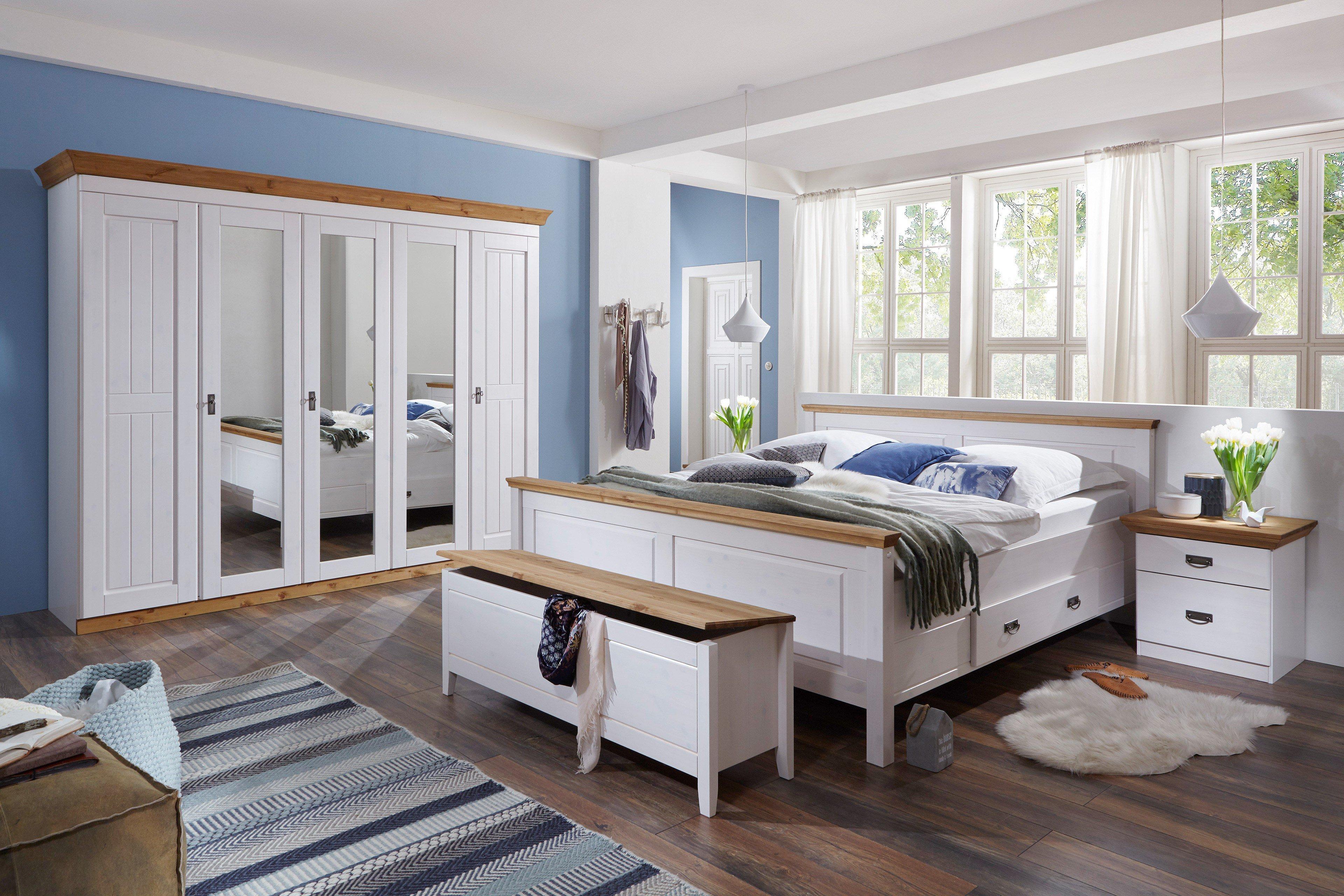 Fantastisch Harri Von Jumek   Schlafzimmer Kiefer Weiß Laugenfarbig