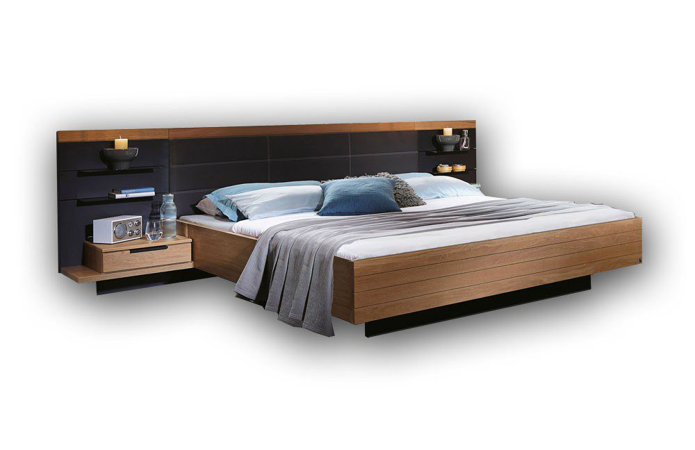 rauch varberg bett wildeiche schwarz m bel letz ihr online m bel shop. Black Bedroom Furniture Sets. Home Design Ideas