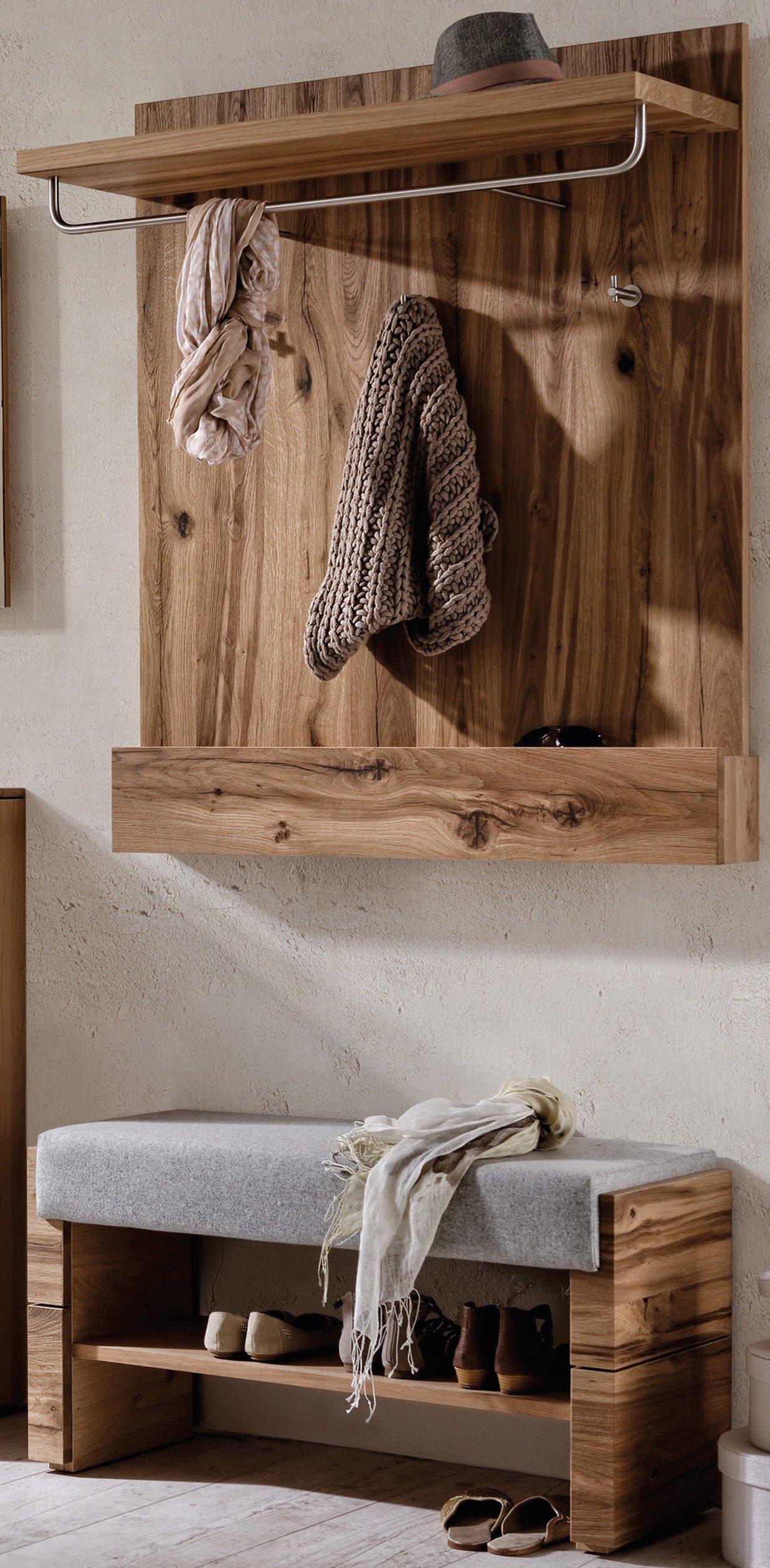Garderobe v alpin viento von voglauer in eiche m bel for Garderobe voglauer