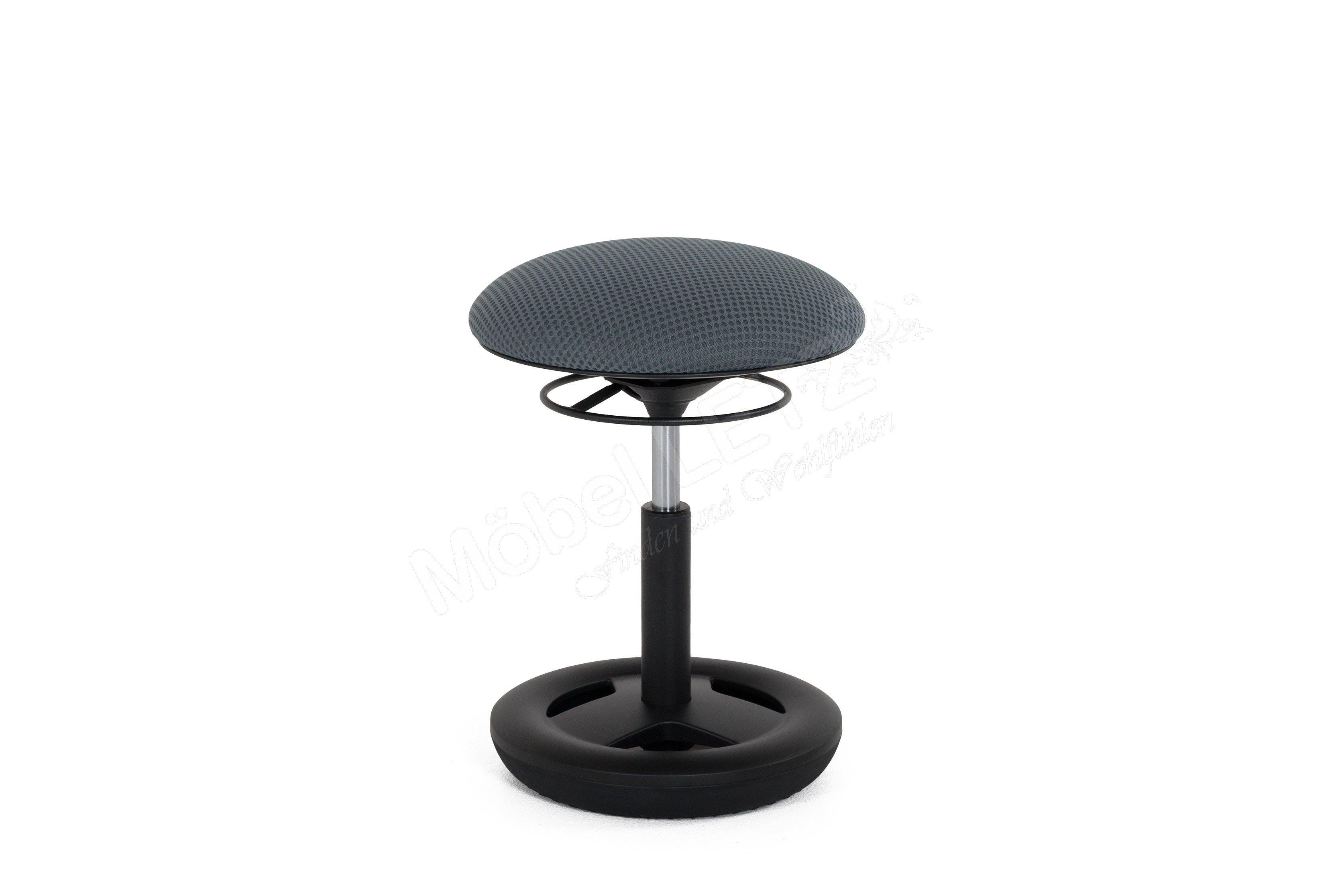 Topstar Fitness-Hocker Sitness Creativ 900 grau/ schwarz | Möbel ...