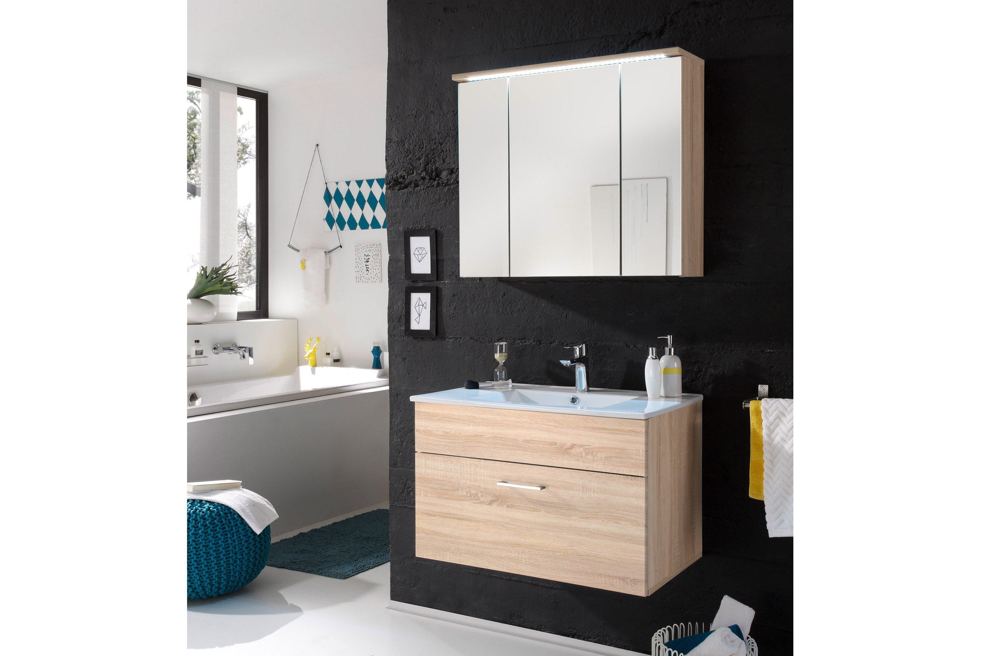 bega badezimmer inkl. beleuchtung & waschbecken | möbel letz - ihr