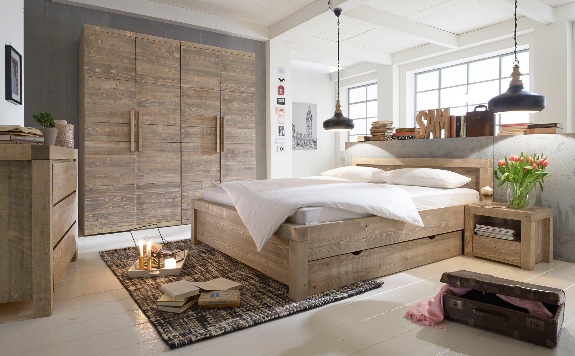Massivholzmöbel schlafzimmer  SC Koks Björn Schlafzimmer-Set Fichte | Möbel Letz - Ihr Online-Shop