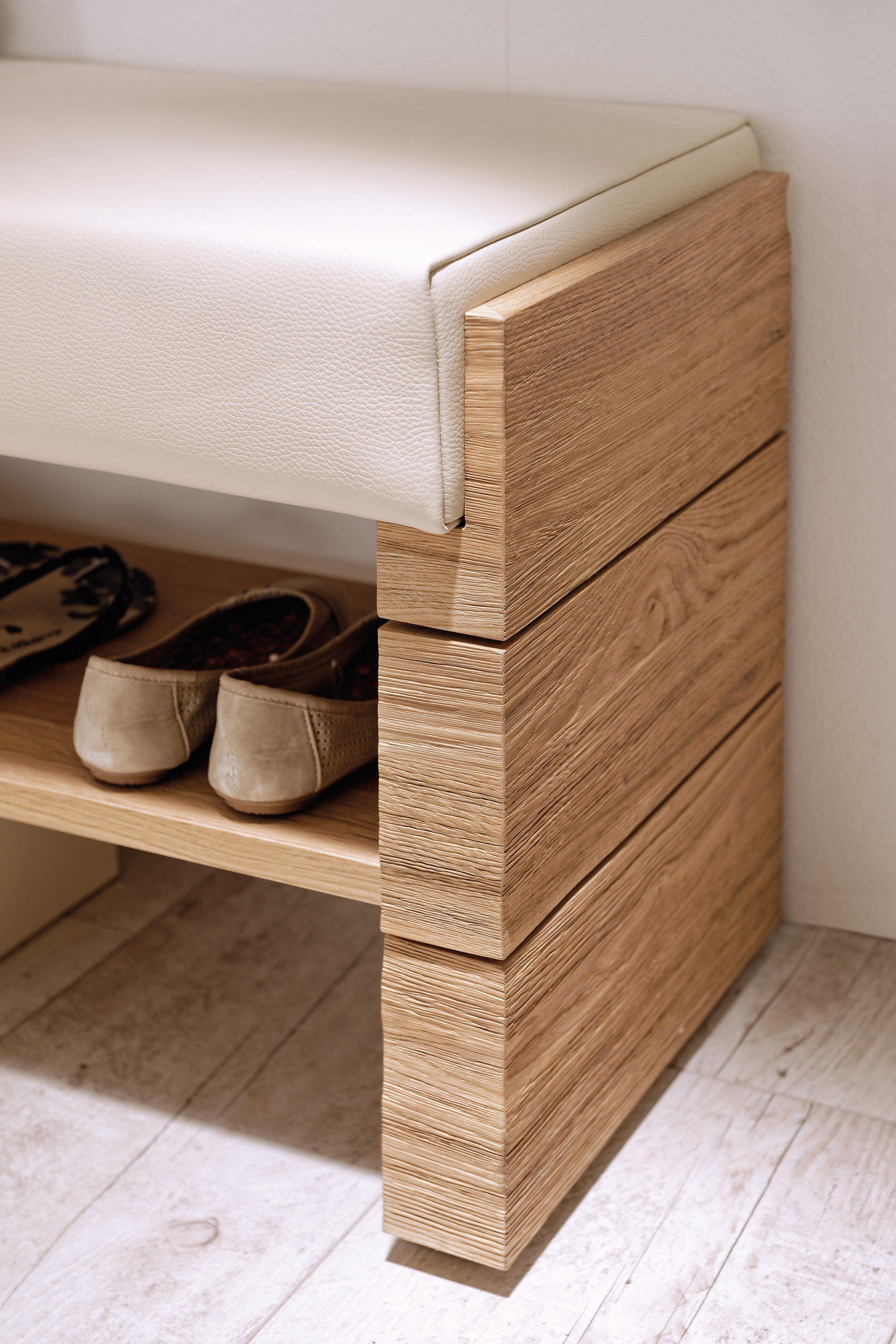 garderobe in wildeiche leder v montana vivianna von voglauer m bel letz ihr online shop. Black Bedroom Furniture Sets. Home Design Ideas