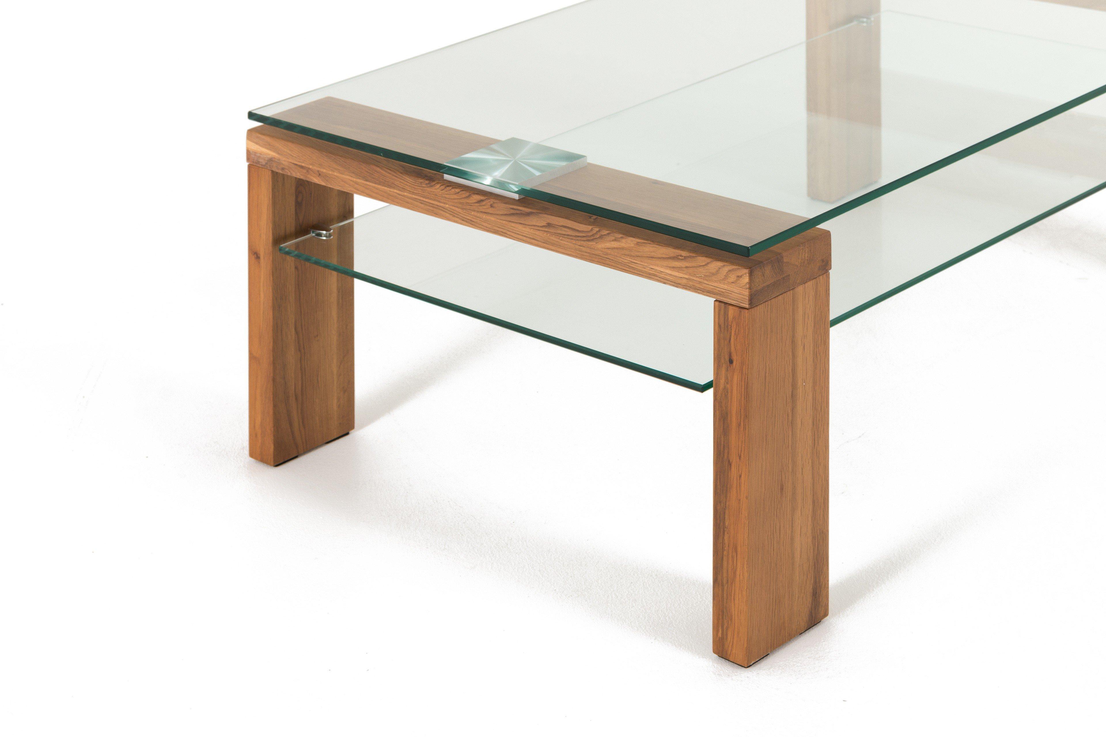 couchtisch alicia aus wildeiche glas von hl design m bel letz ihr online shop. Black Bedroom Furniture Sets. Home Design Ideas